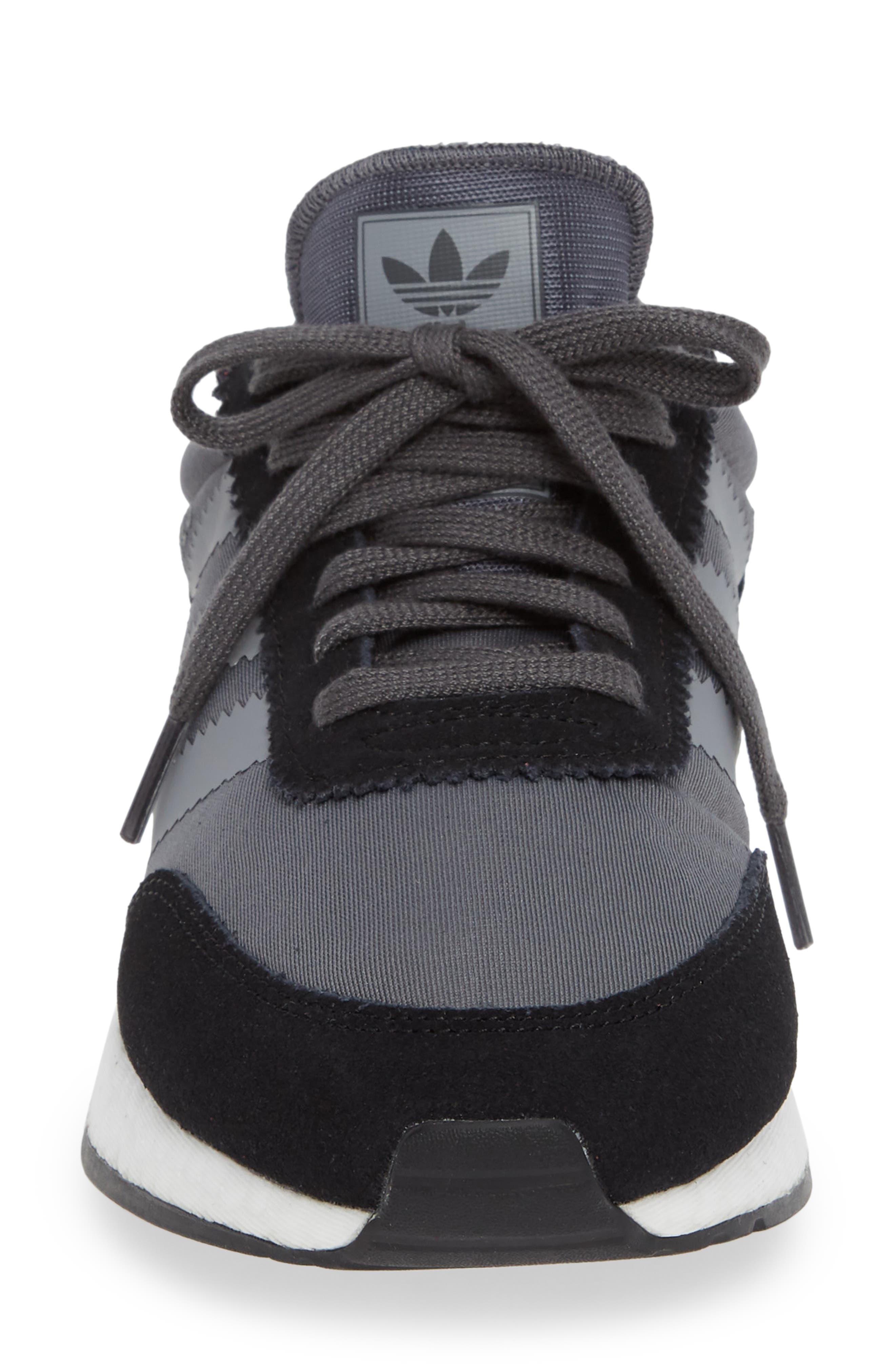I-5923 Sneaker,                             Alternate thumbnail 4, color,                             BLACK/ GREY THREE/ GREY FIVE