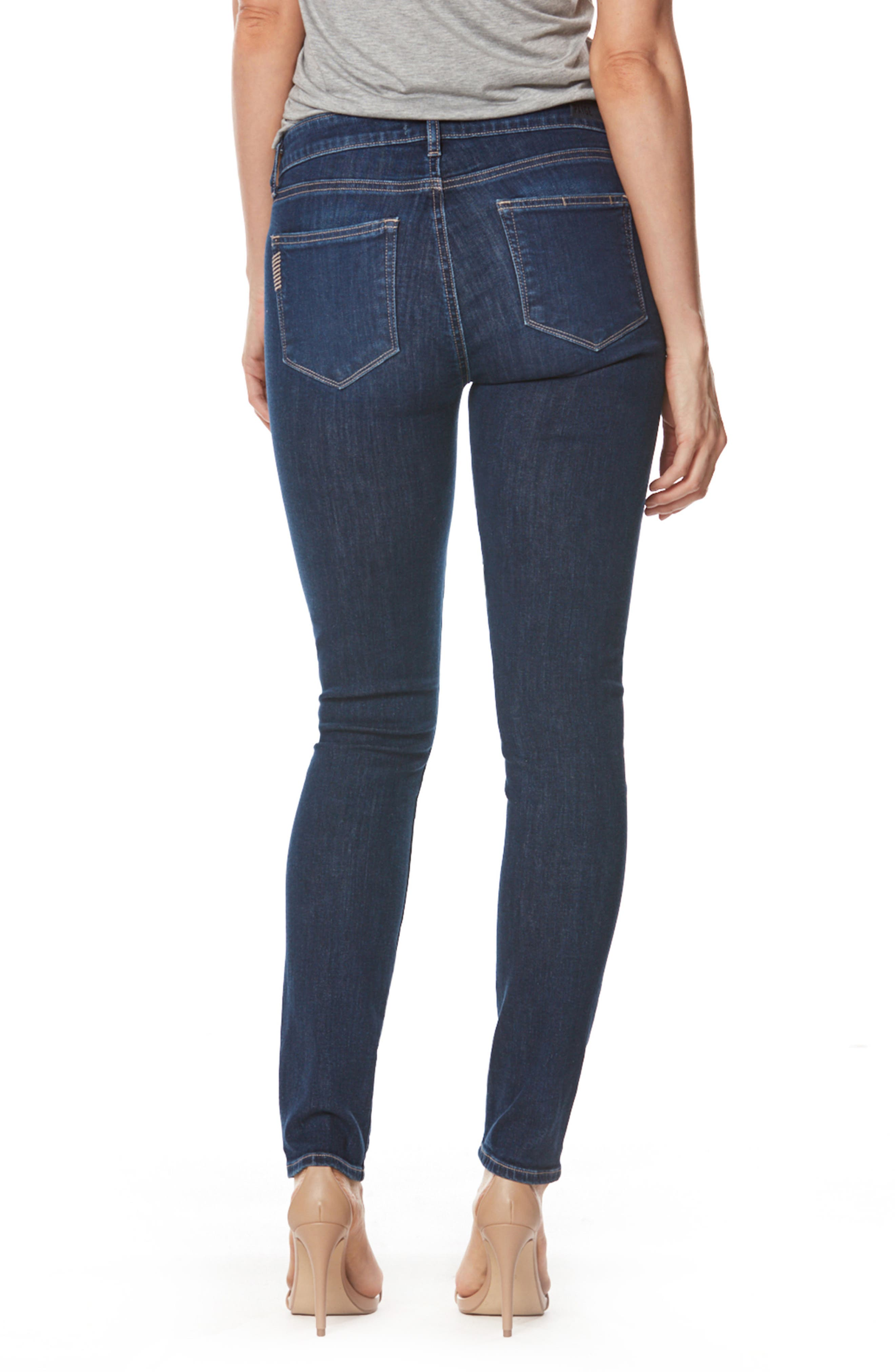 Transcend - Verdugo Ultra Skinny Jeans,                             Alternate thumbnail 2, color,                             400
