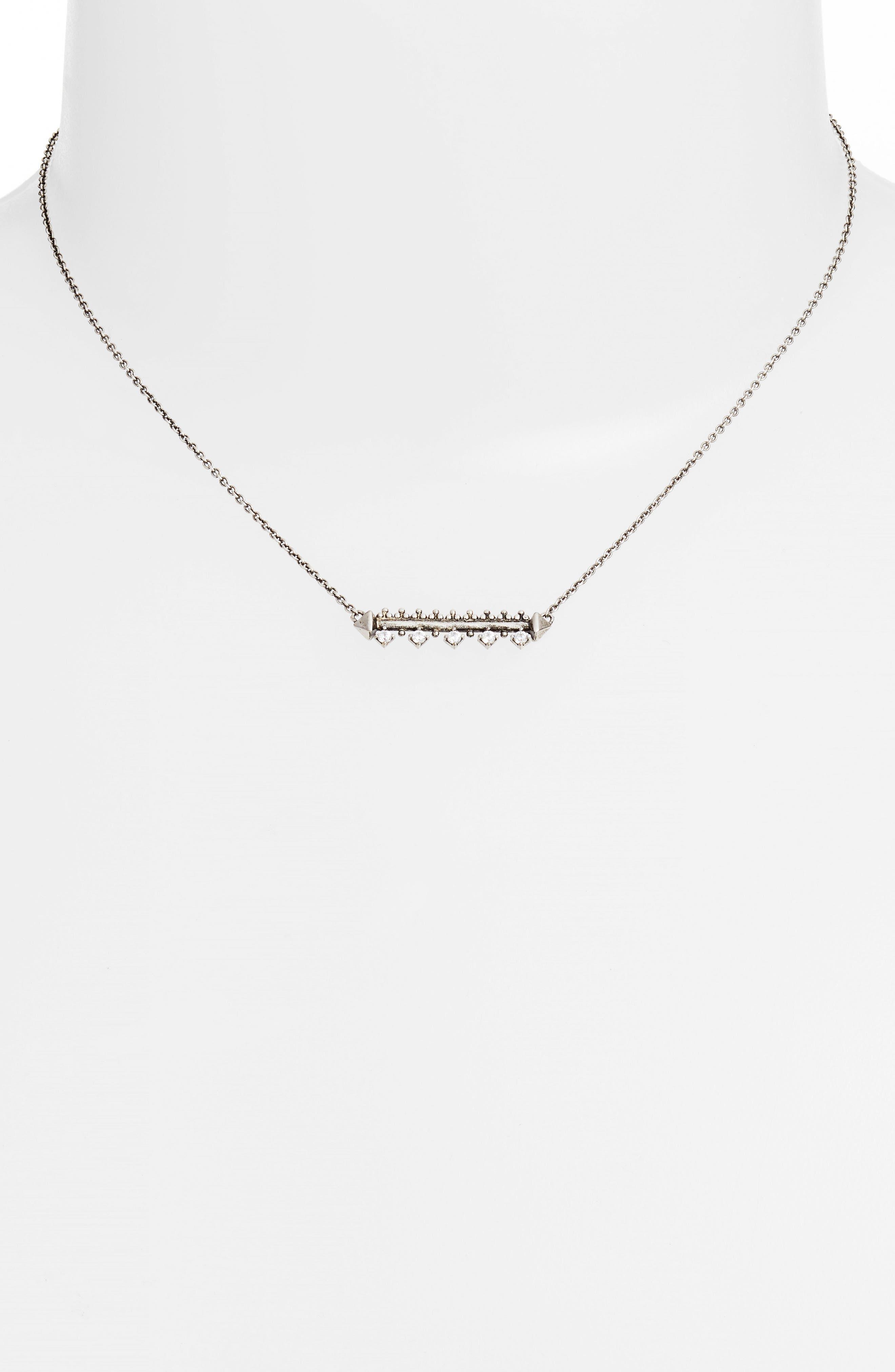 Anissa Bar Pendant Necklace,                             Alternate thumbnail 2, color,                             042