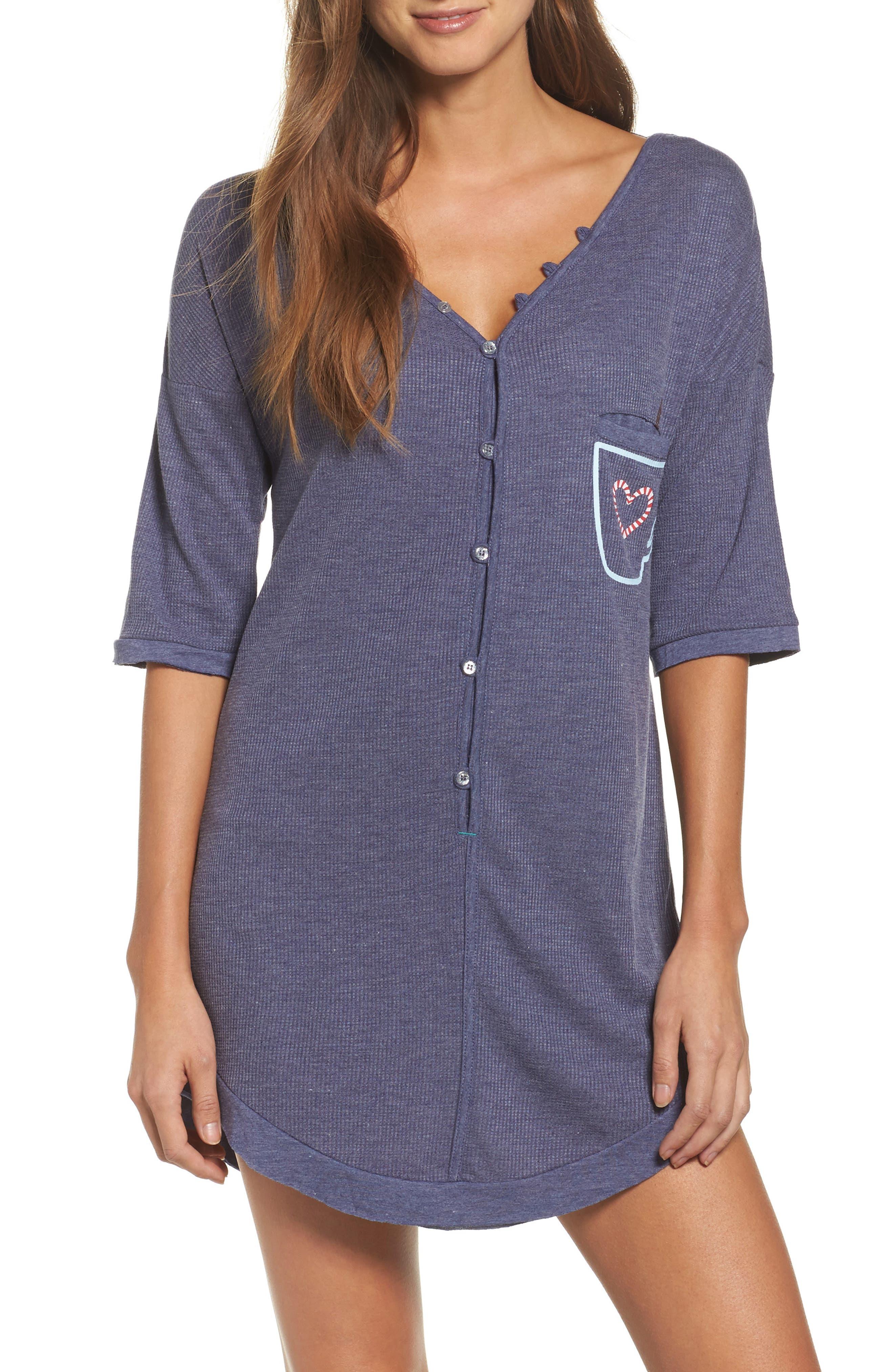 Sleep Shirt,                             Main thumbnail 1, color,