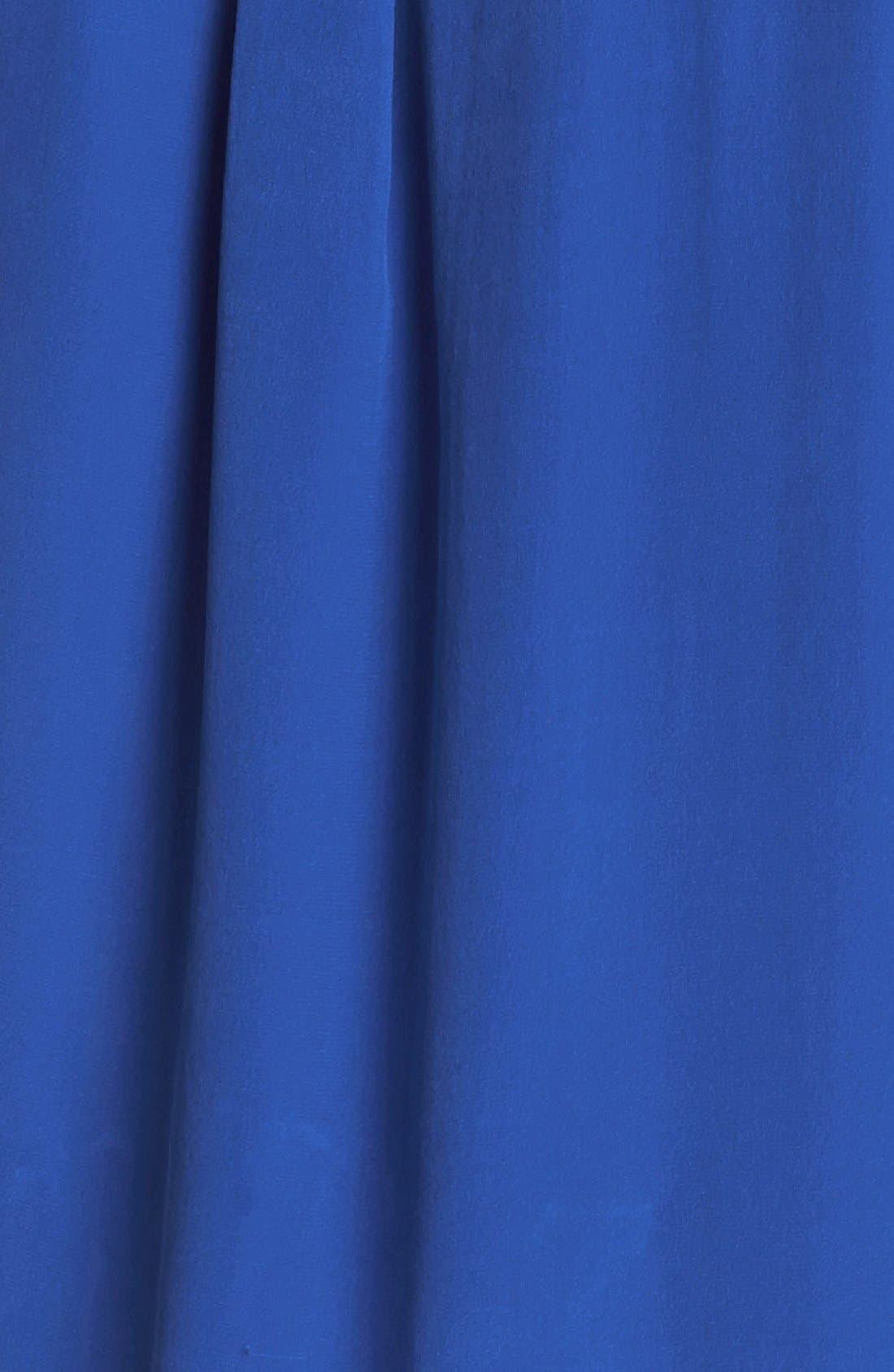 'Slim Signature' Sleeveless Silk Shirt,                             Alternate thumbnail 70, color,