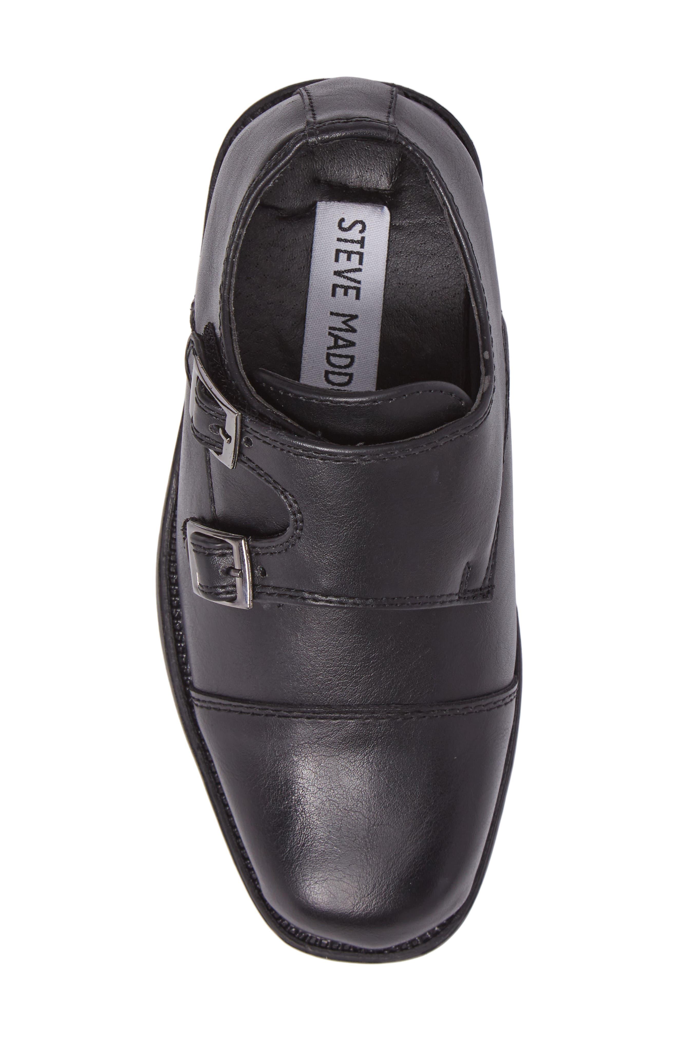 Double Monk Strap Shoe,                             Alternate thumbnail 5, color,                             006