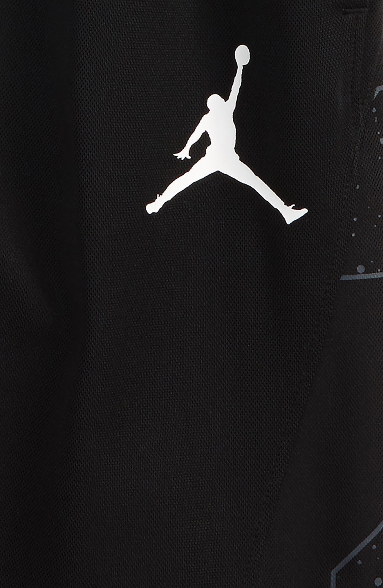 Jordan Speckle 23 Basketball Shorts,                             Alternate thumbnail 3, color,                             004