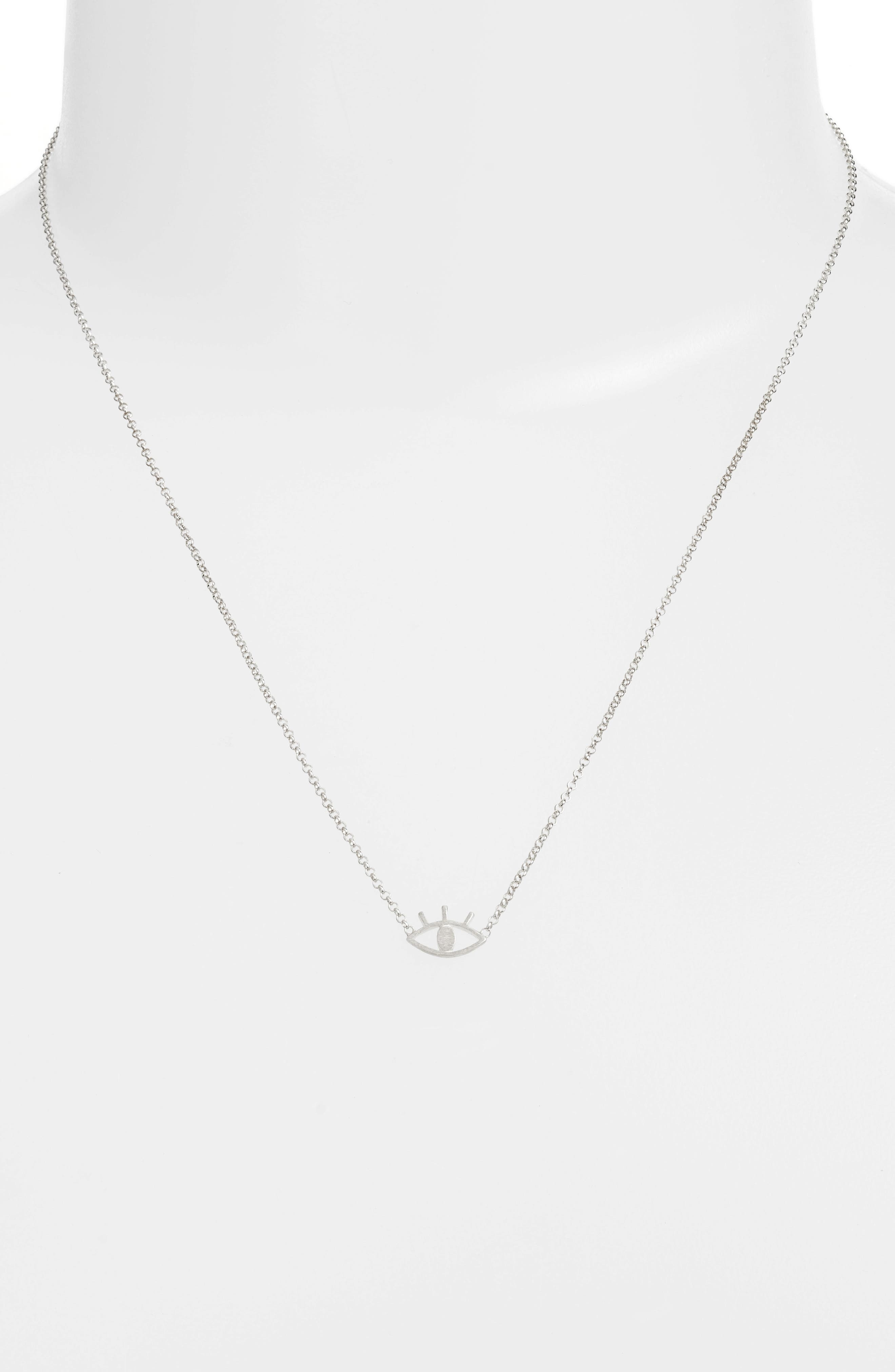 See Open Eye Necklace,                             Alternate thumbnail 3, color,                             040