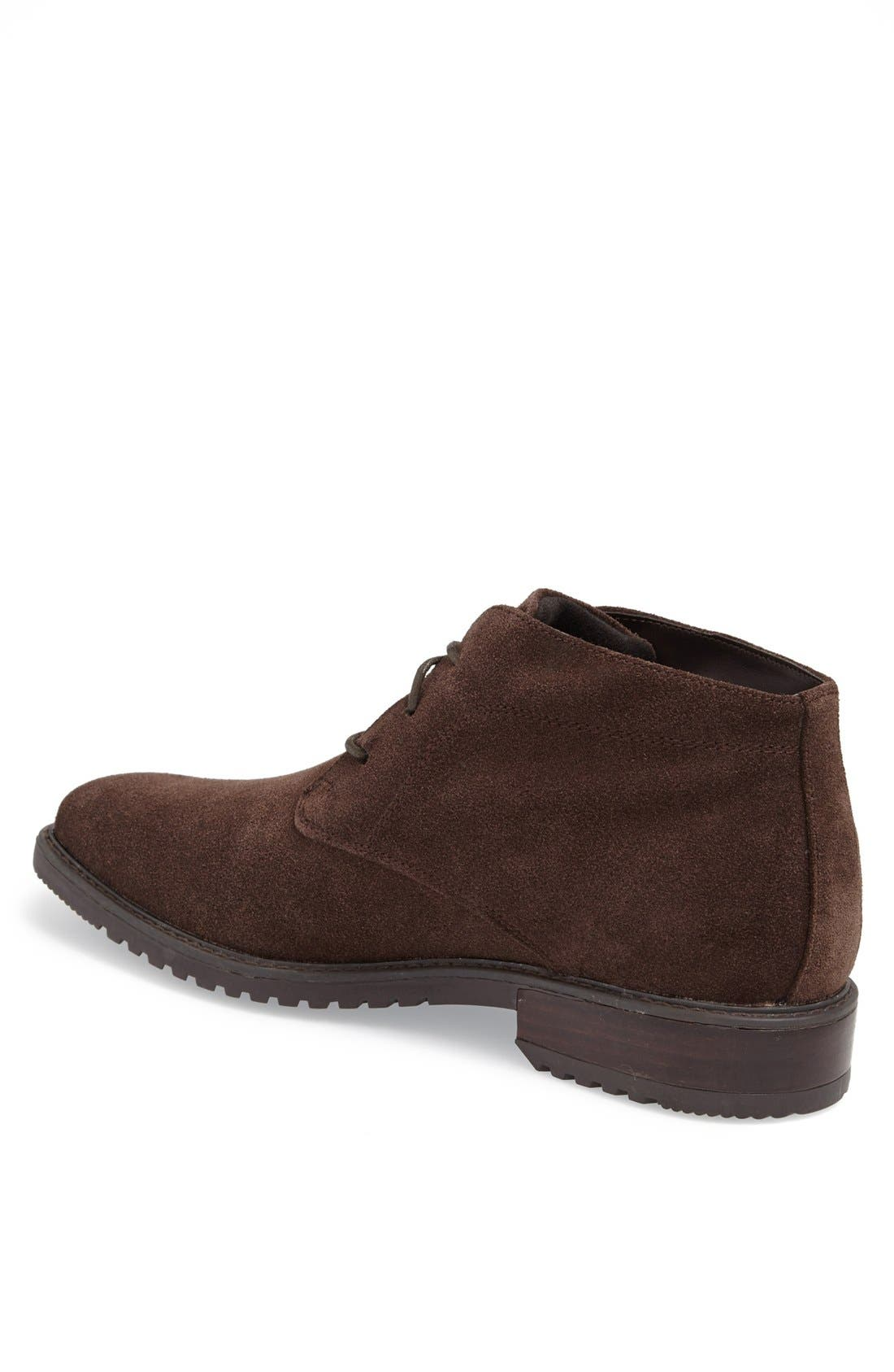 'Griffin' Waterproof Suede Chukka Boot,                             Alternate thumbnail 2, color,                             201