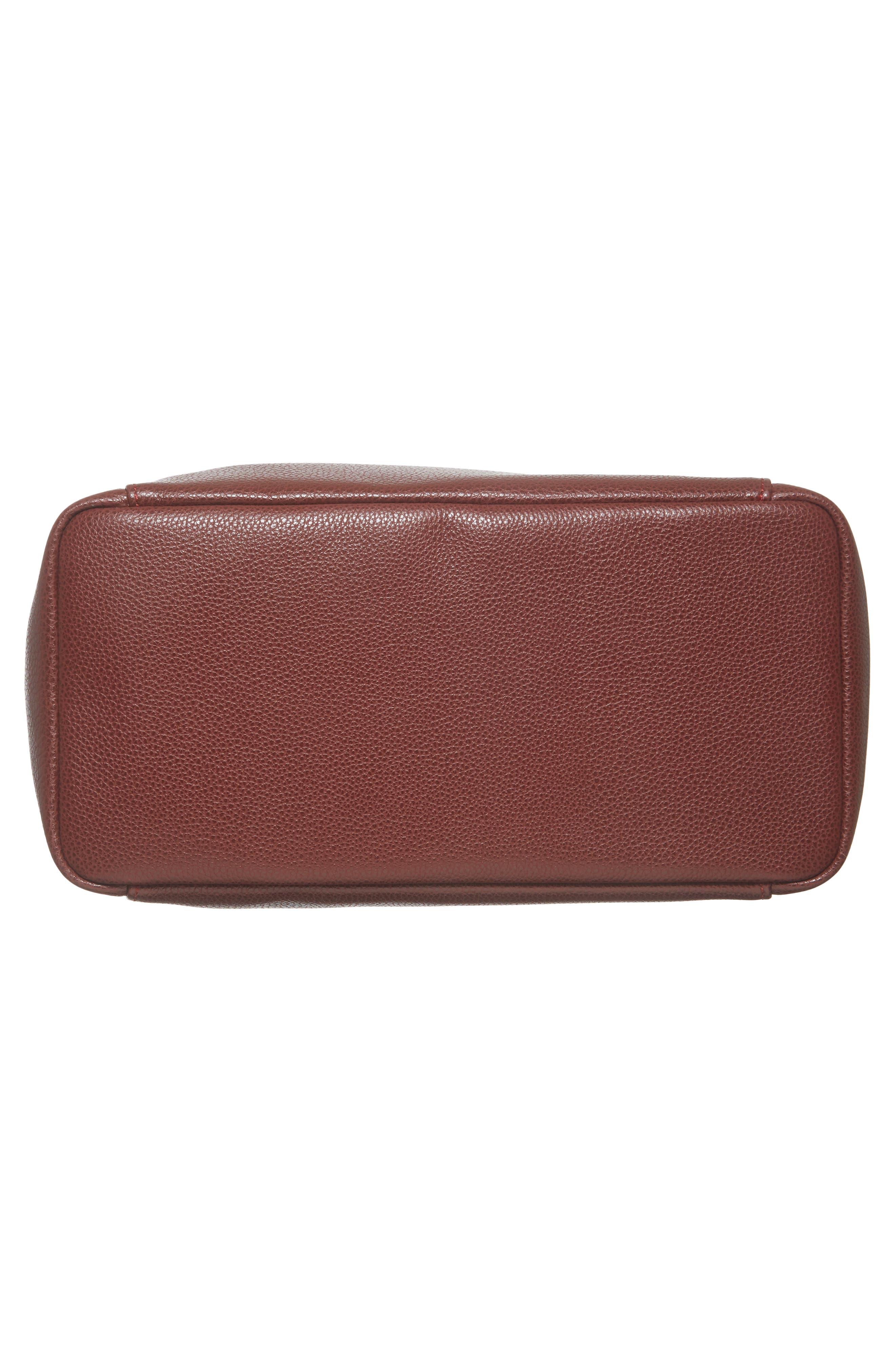 'Le Foulonne' Leather Hobo Bag,                             Alternate thumbnail 6, color,                             618