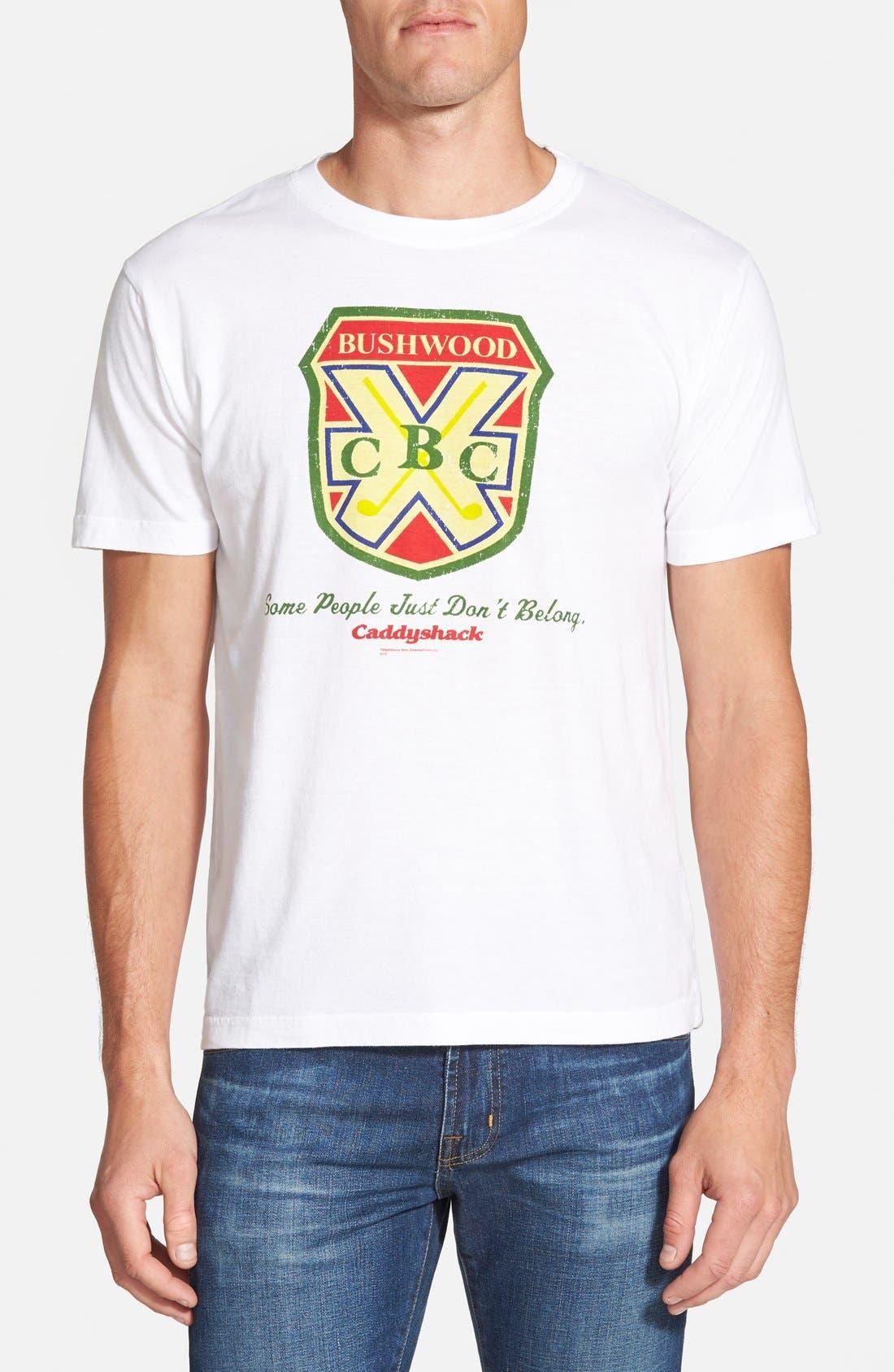'Caddyshack - Bushwood CC' Graphic T-Shirt,                             Main thumbnail 1, color,                             100