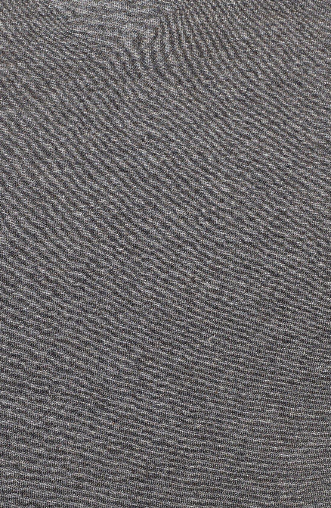 3-Pack Slim Fit T-Shirt,                             Alternate thumbnail 5, color,                             BLACK/ GREY/ CHARCOAL
