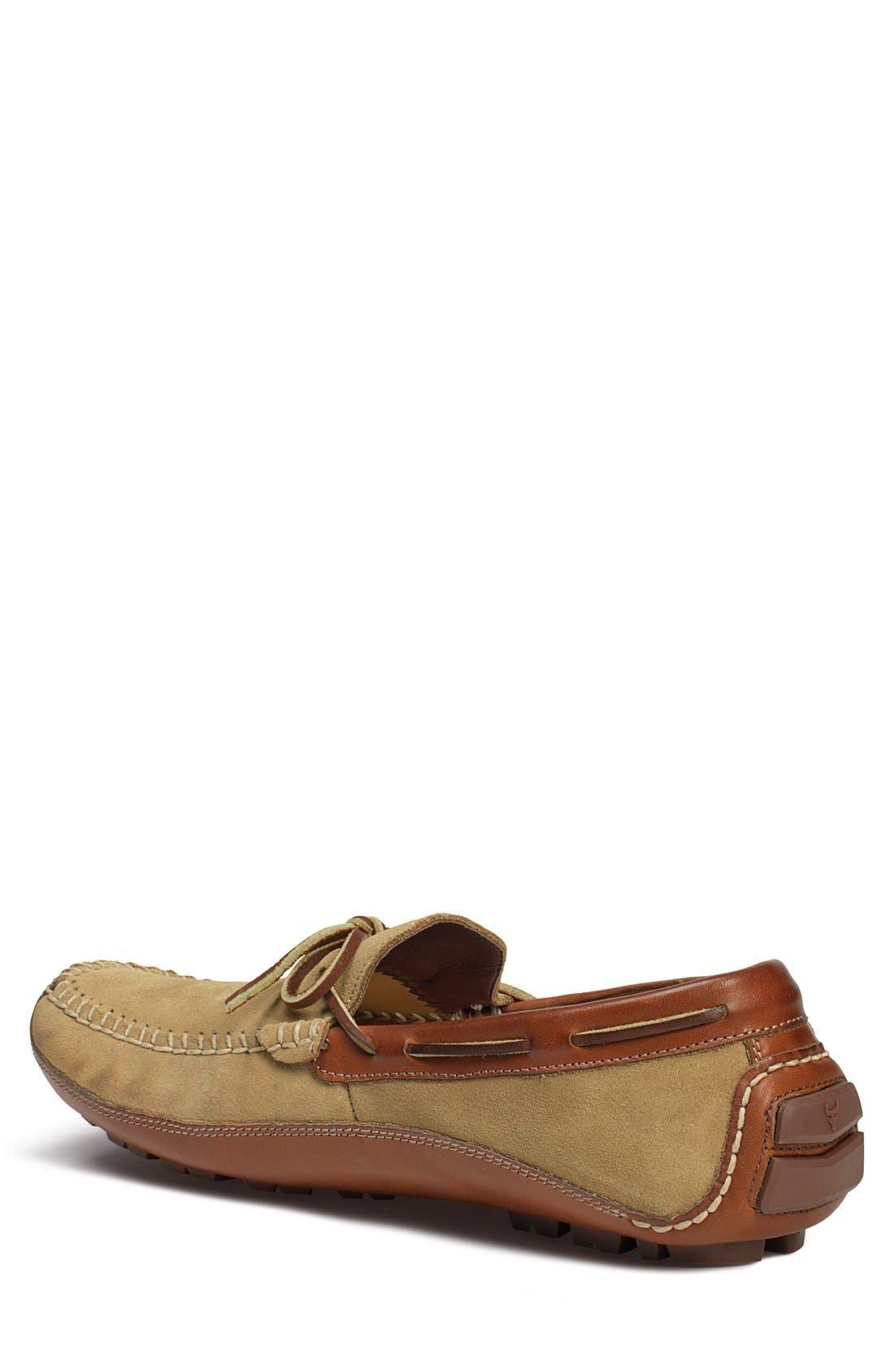'Drake' Leather Driving Shoe,                             Alternate thumbnail 21, color,