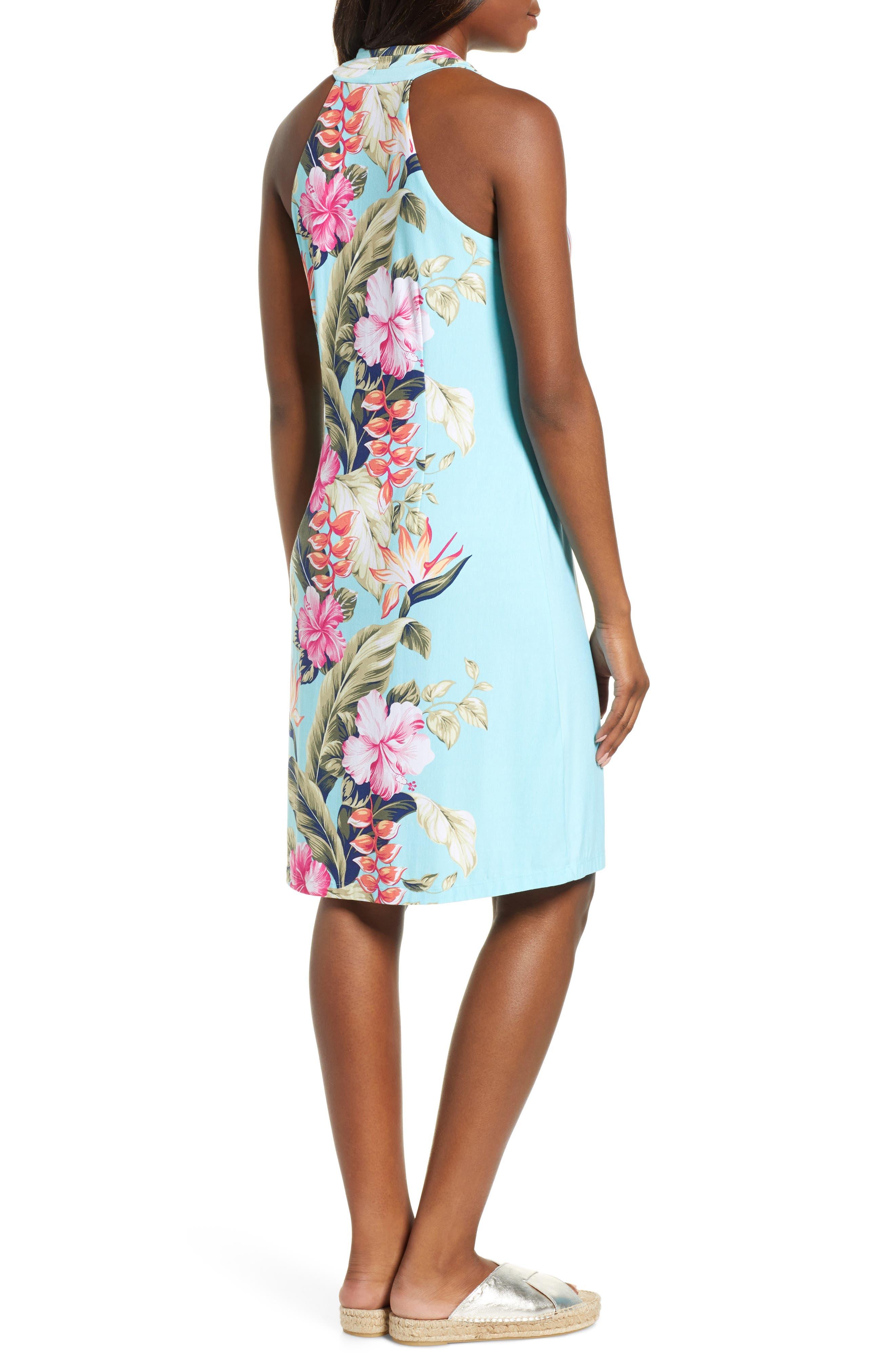 Kahuna Cascade Dress,                             Alternate thumbnail 2, color,                             BLUE SWELL