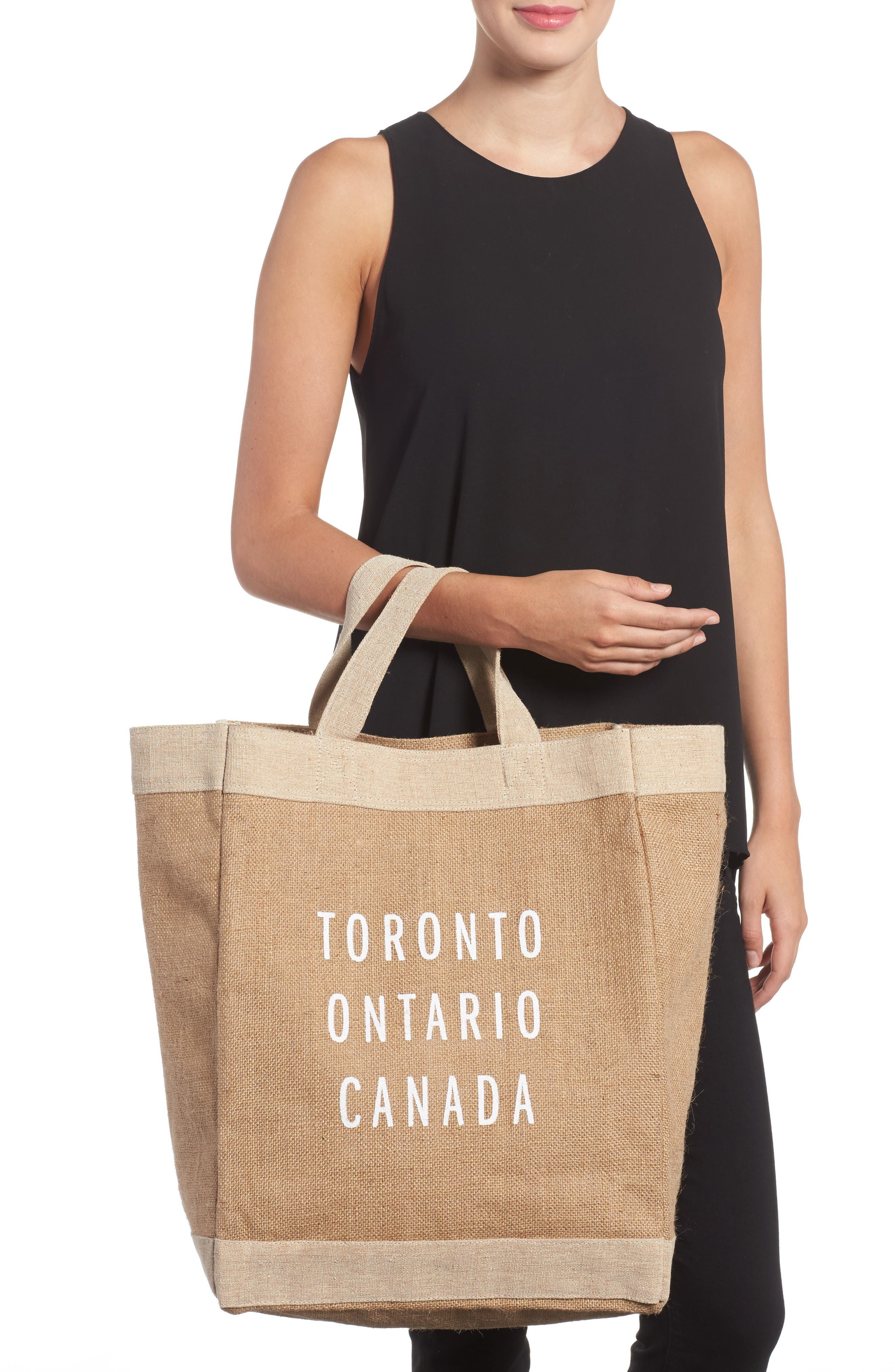 Toronto Simple Market Bag,                             Alternate thumbnail 2, color,                             200