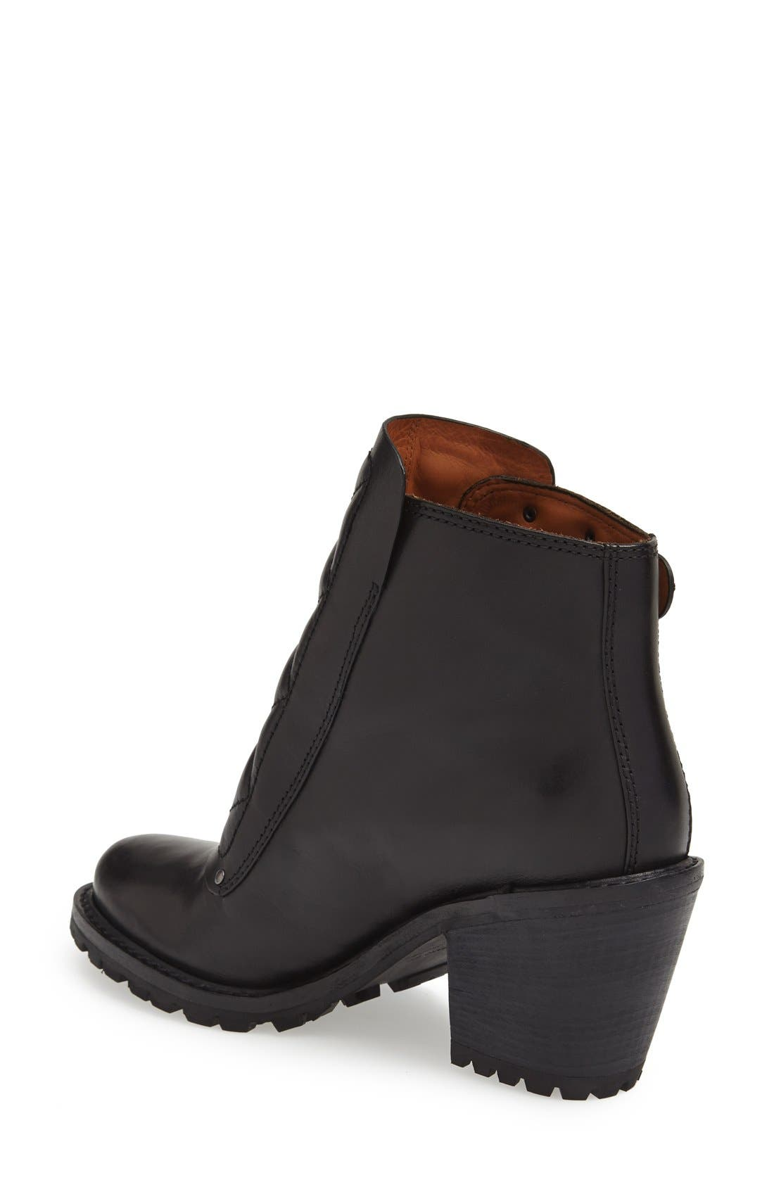 MARC BY MARC JACOBS Ankle Boot,                             Alternate thumbnail 2, color,                             001