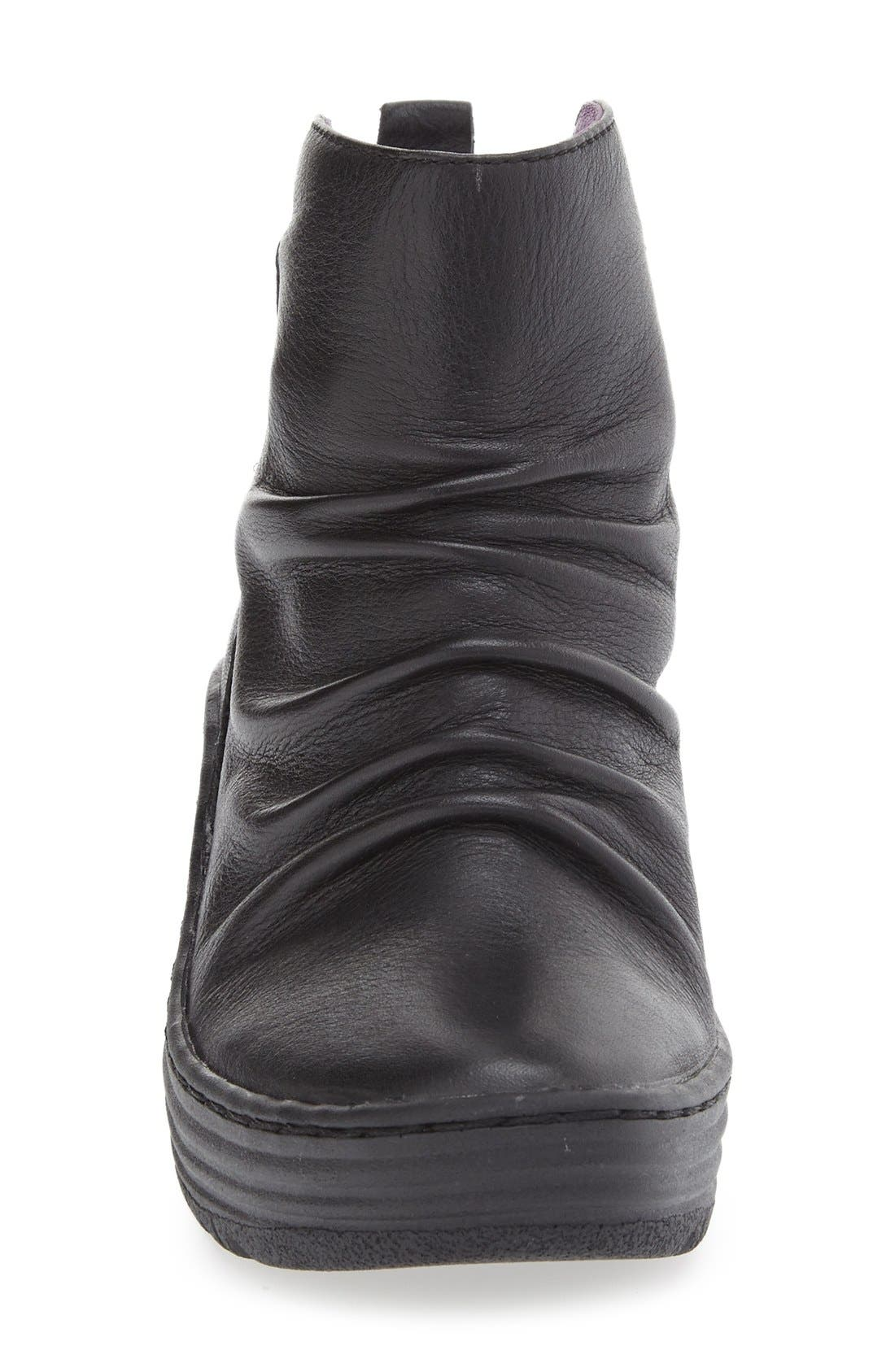 'Gilford' Wedge Bootie,                             Alternate thumbnail 3, color,                             001