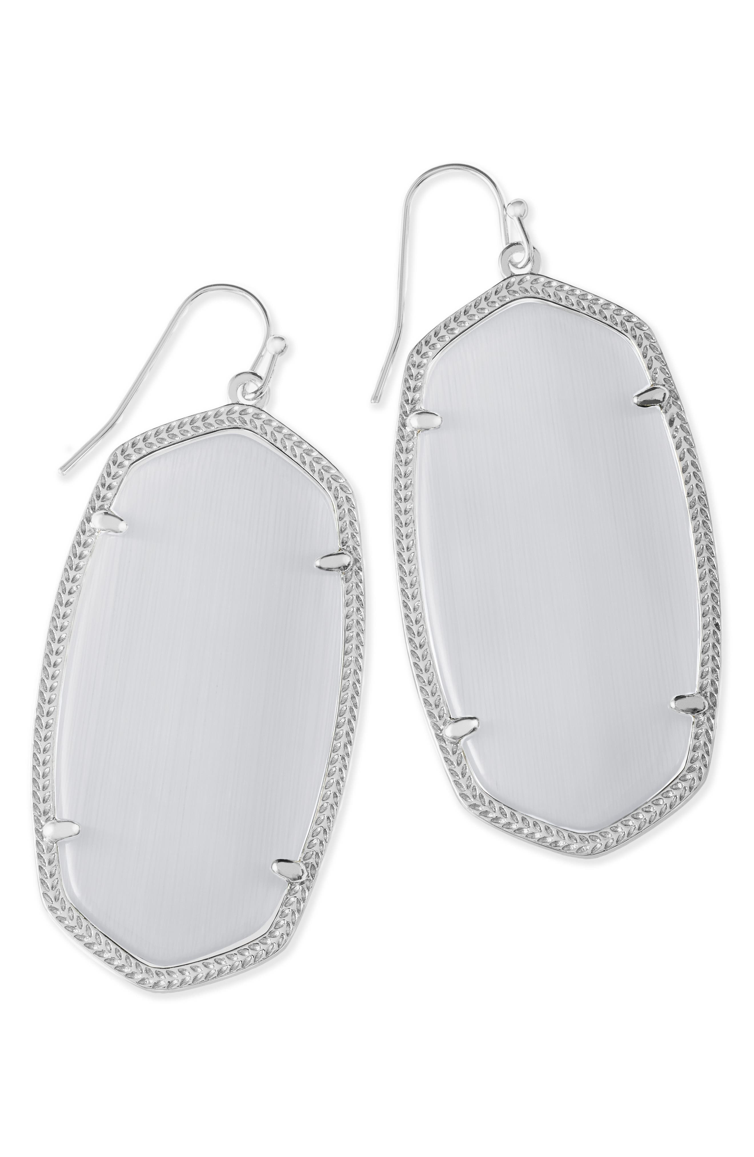 Danielle - Large Oval Statement Earrings,                             Alternate thumbnail 281, color,