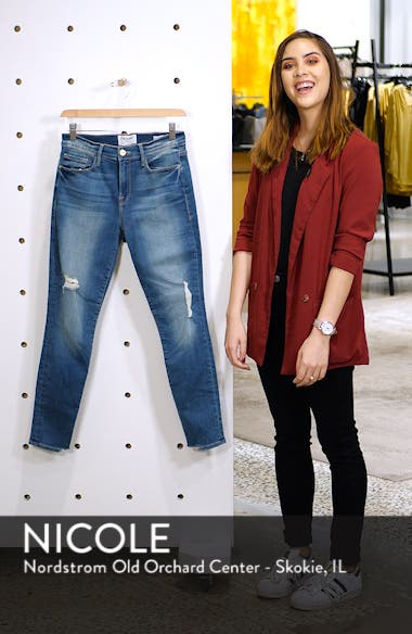 Le Skinny de Jeanne Crop Jeans, sales video thumbnail