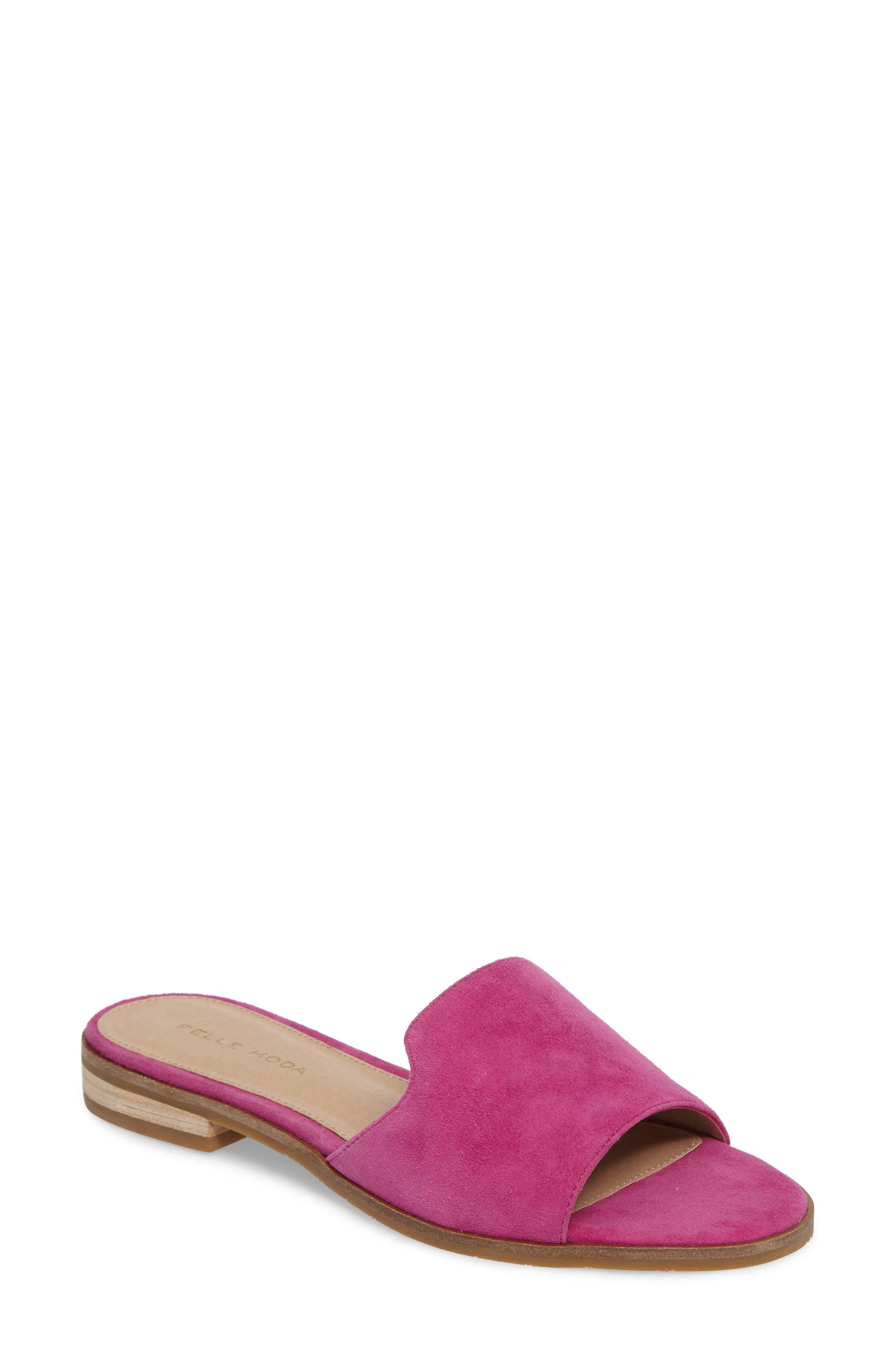 Hailey Slide Sandal,                             Main thumbnail 3, color,