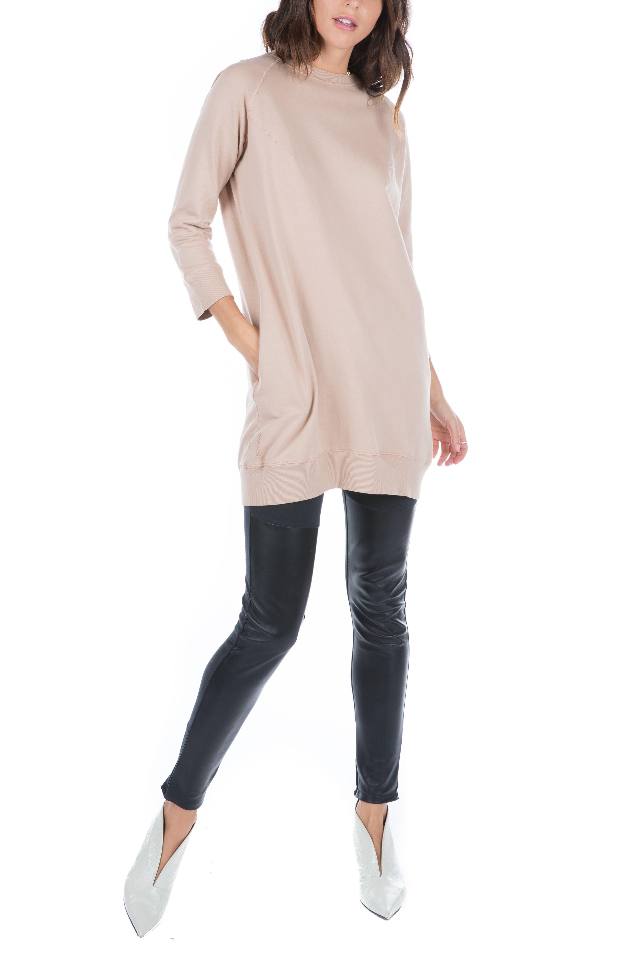 Sweatshirt Dress,                             Alternate thumbnail 9, color,                             950