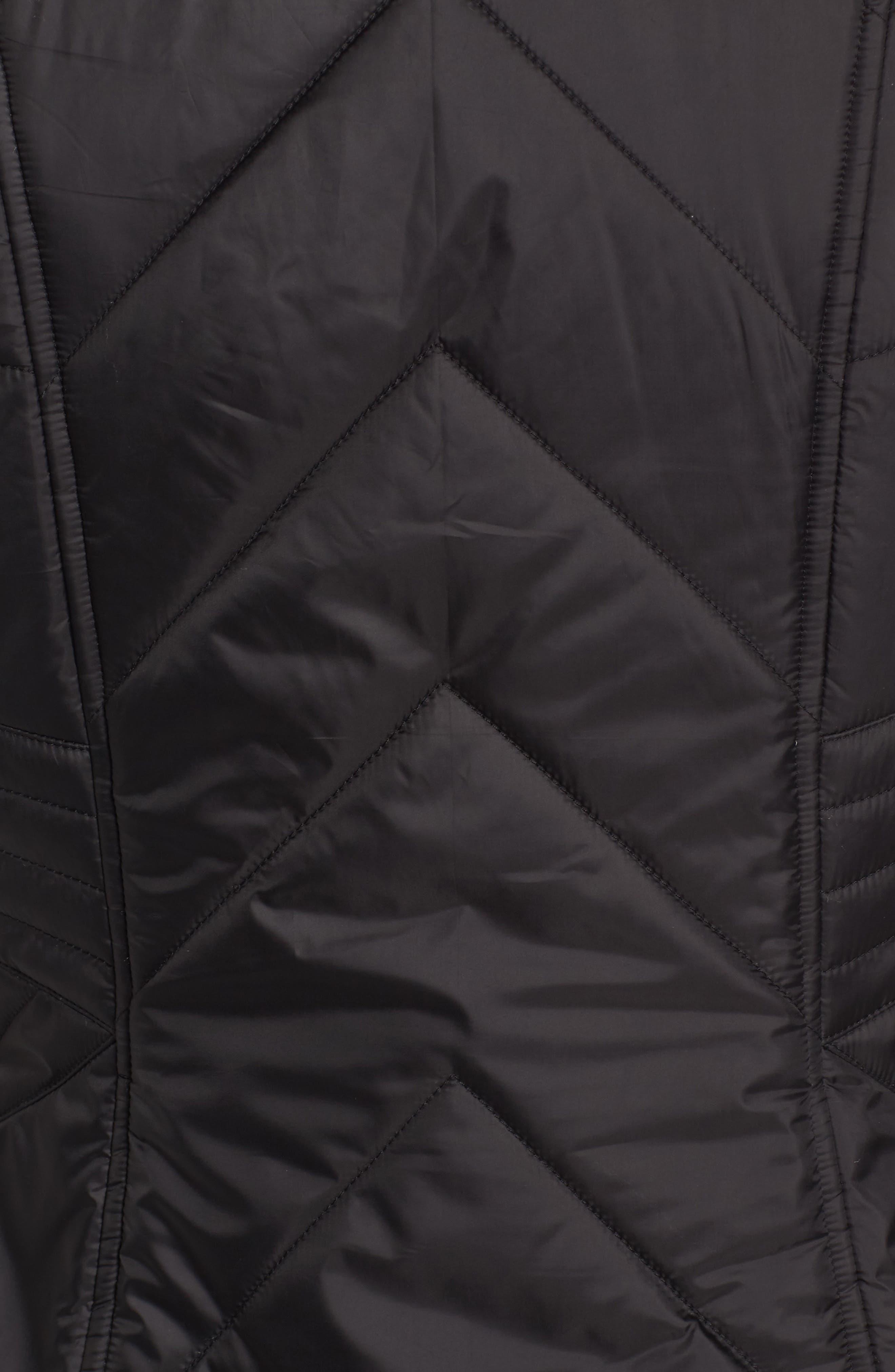 GALLERY,                             Reversible Faux Fur Vest,                             Alternate thumbnail 6, color,                             001