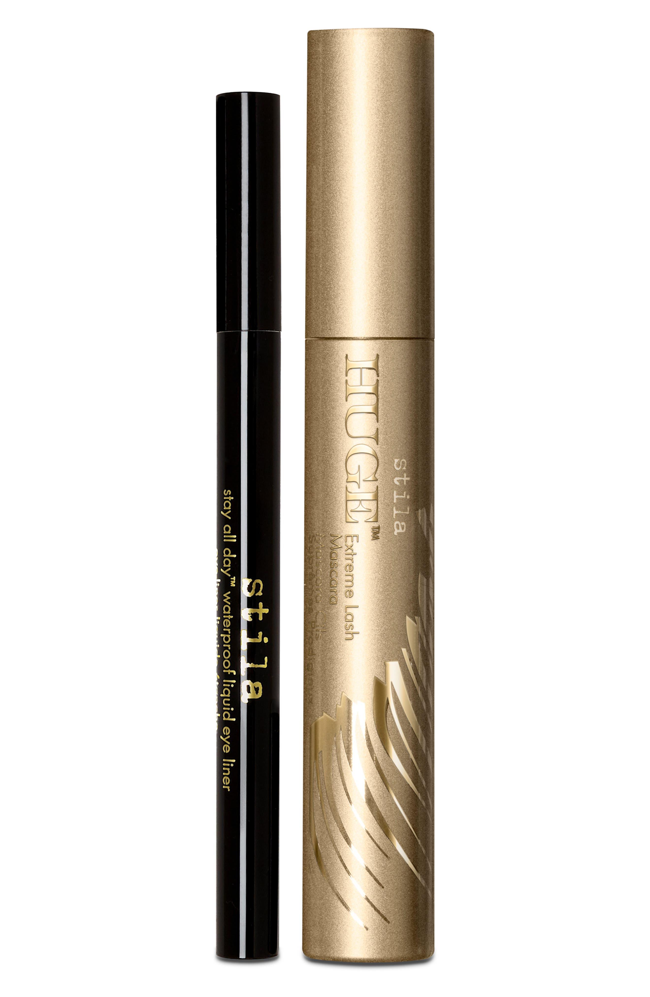 Big Shots Redux Eyeliner & Mascara Duo,                             Main thumbnail 1, color,                             000