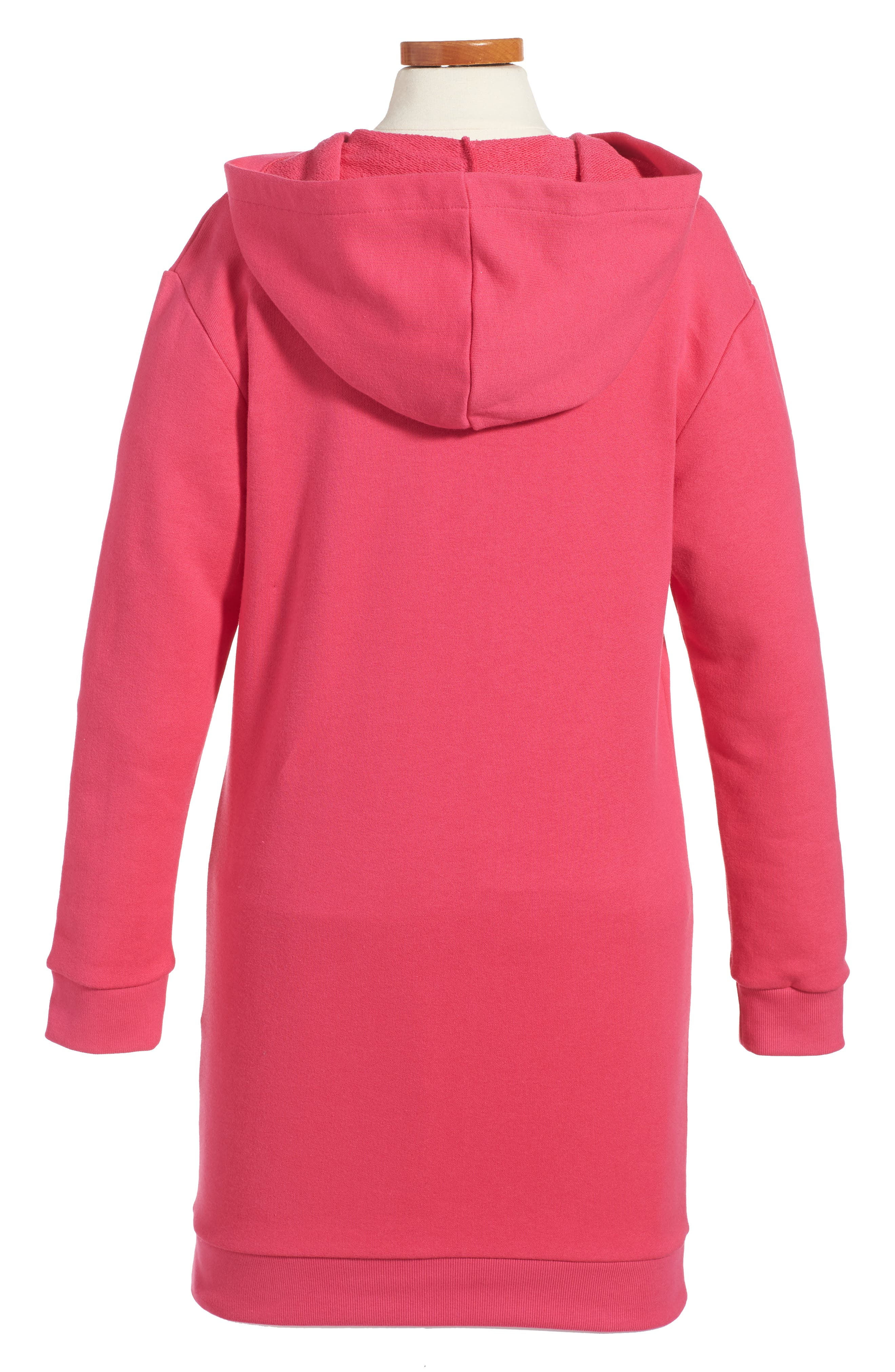 Logo Graphic Hoodie Dress,                             Alternate thumbnail 2, color,                             667