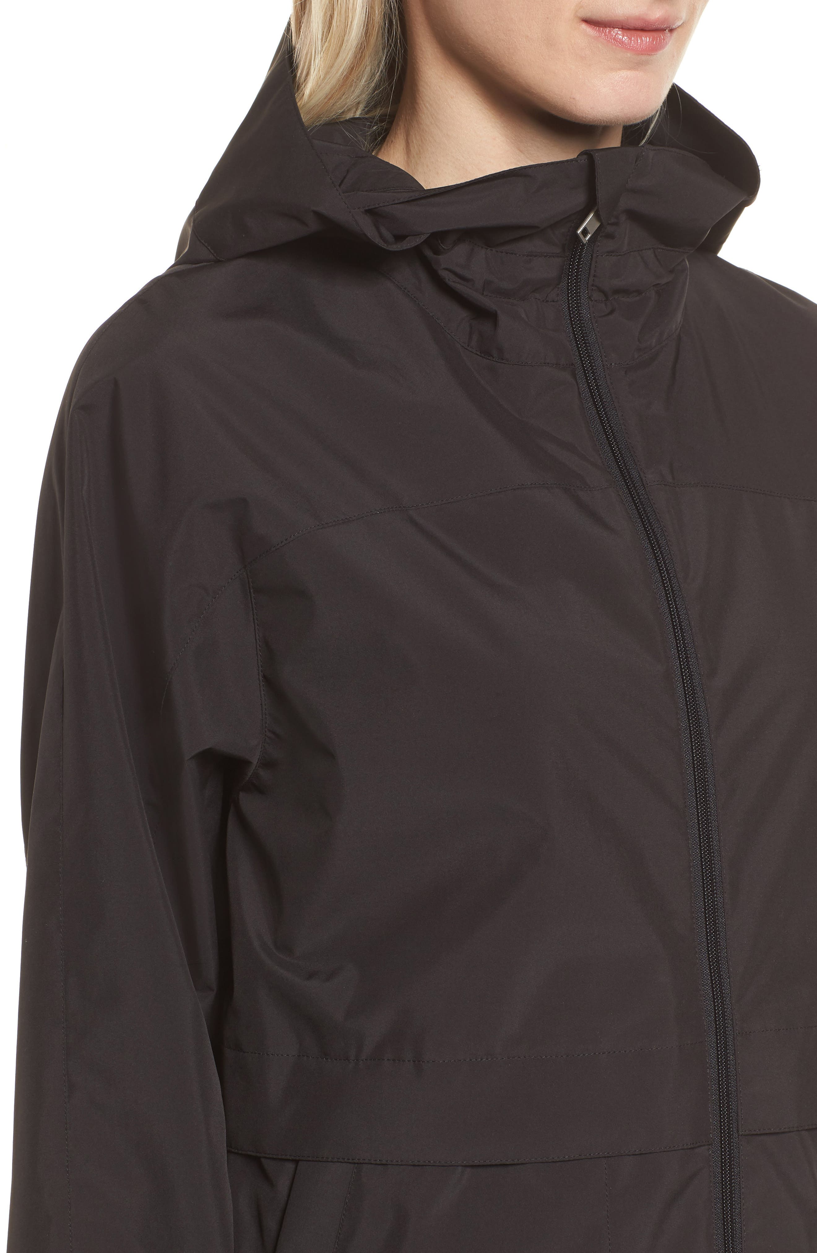 Pearl Cloth Hooded Jacket,                             Alternate thumbnail 8, color,