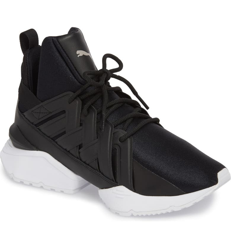 3559829d780 PUMA Muse Echo Satin En Pointe High Top Sneaker (Women)