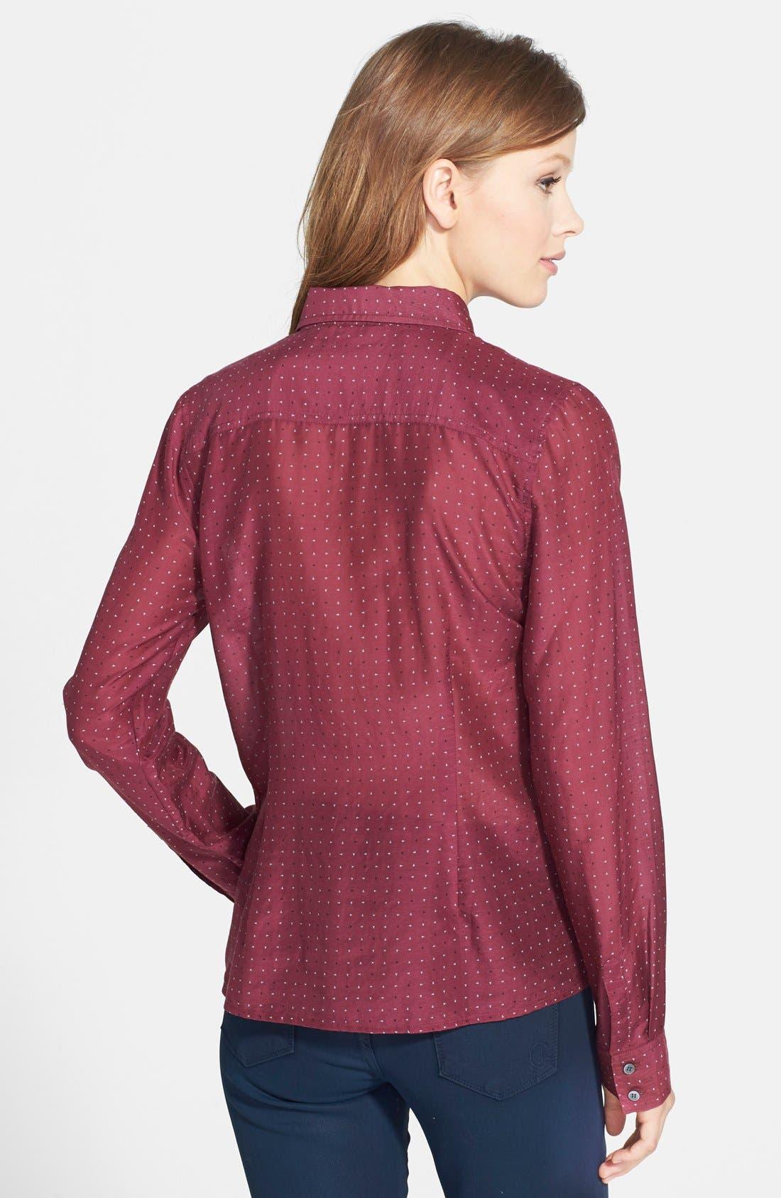 Cotton & Silk Shirt,                             Alternate thumbnail 77, color,