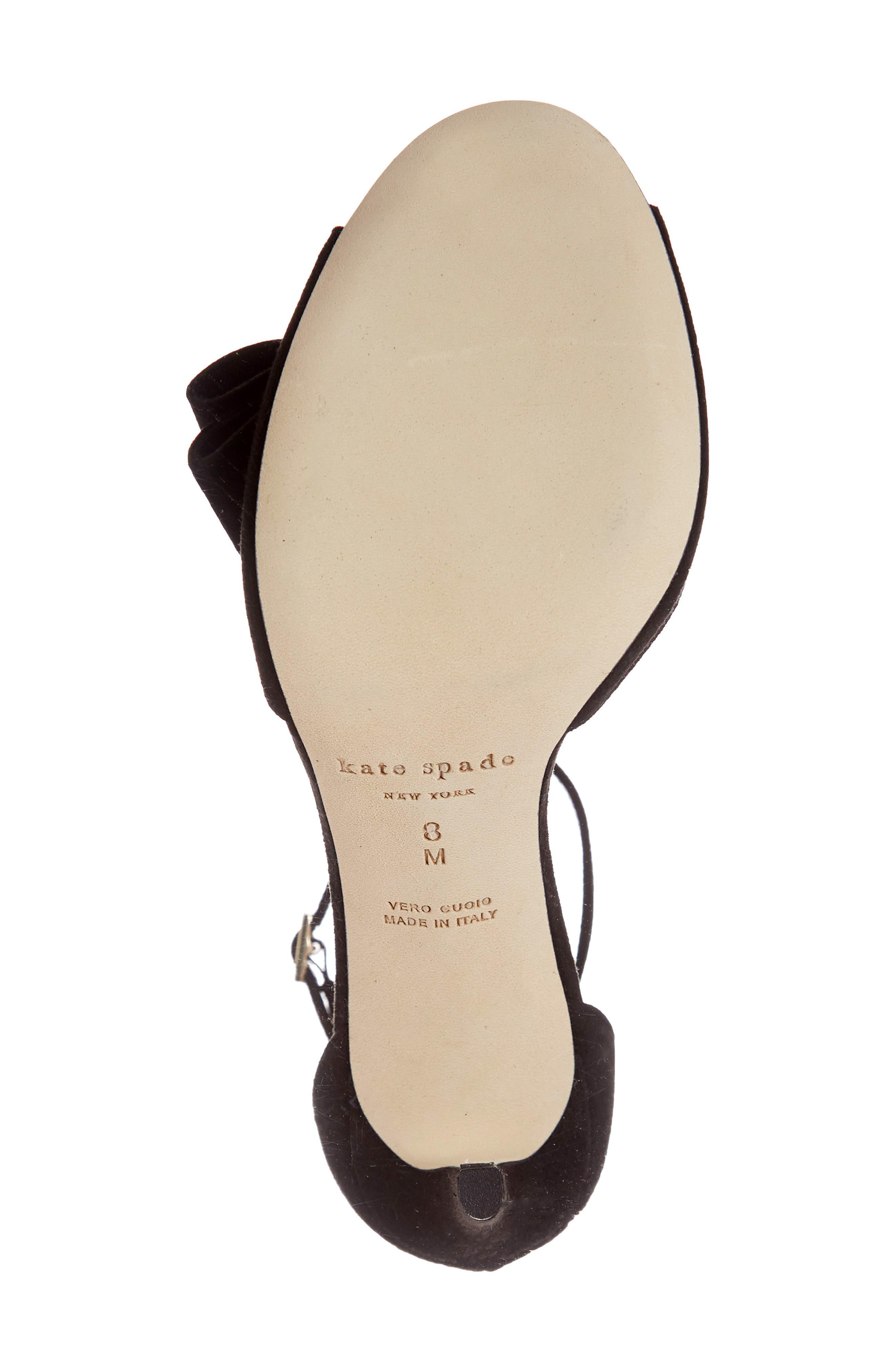ismay ankle strap sandal,                             Alternate thumbnail 6, color,                             001