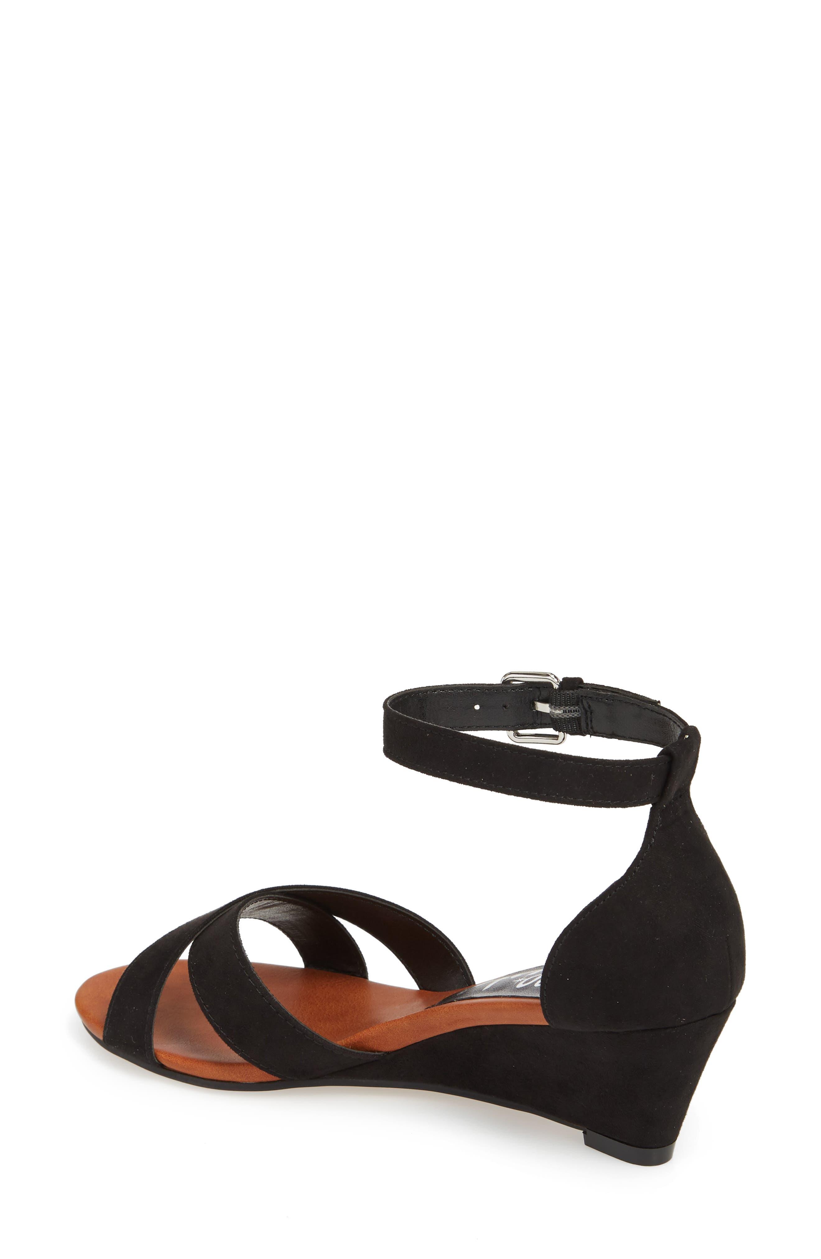 Strobe Wedge Sandal,                             Alternate thumbnail 2, color,                             003
