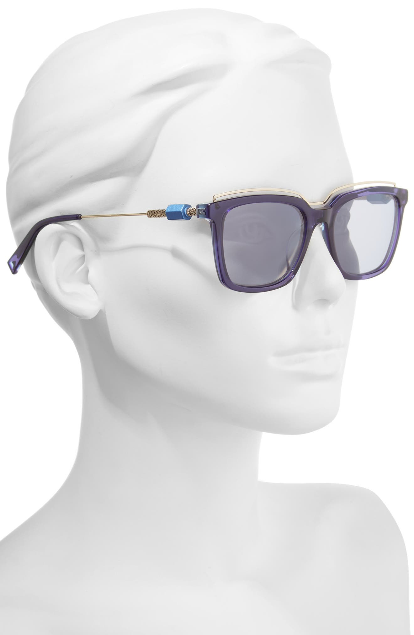 Opus 54mm Sunglasses,                             Alternate thumbnail 6, color,