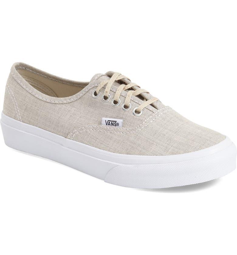 4d0d52ed398 Vans  Authentic - Slim  Chambray Sneaker (Women)