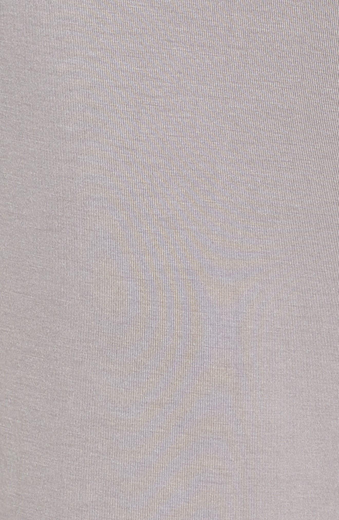 NORDSTROM LINGERIE,                             Breathe Stretch Modal Pants,                             Alternate thumbnail 5, color,                             GREY GULL