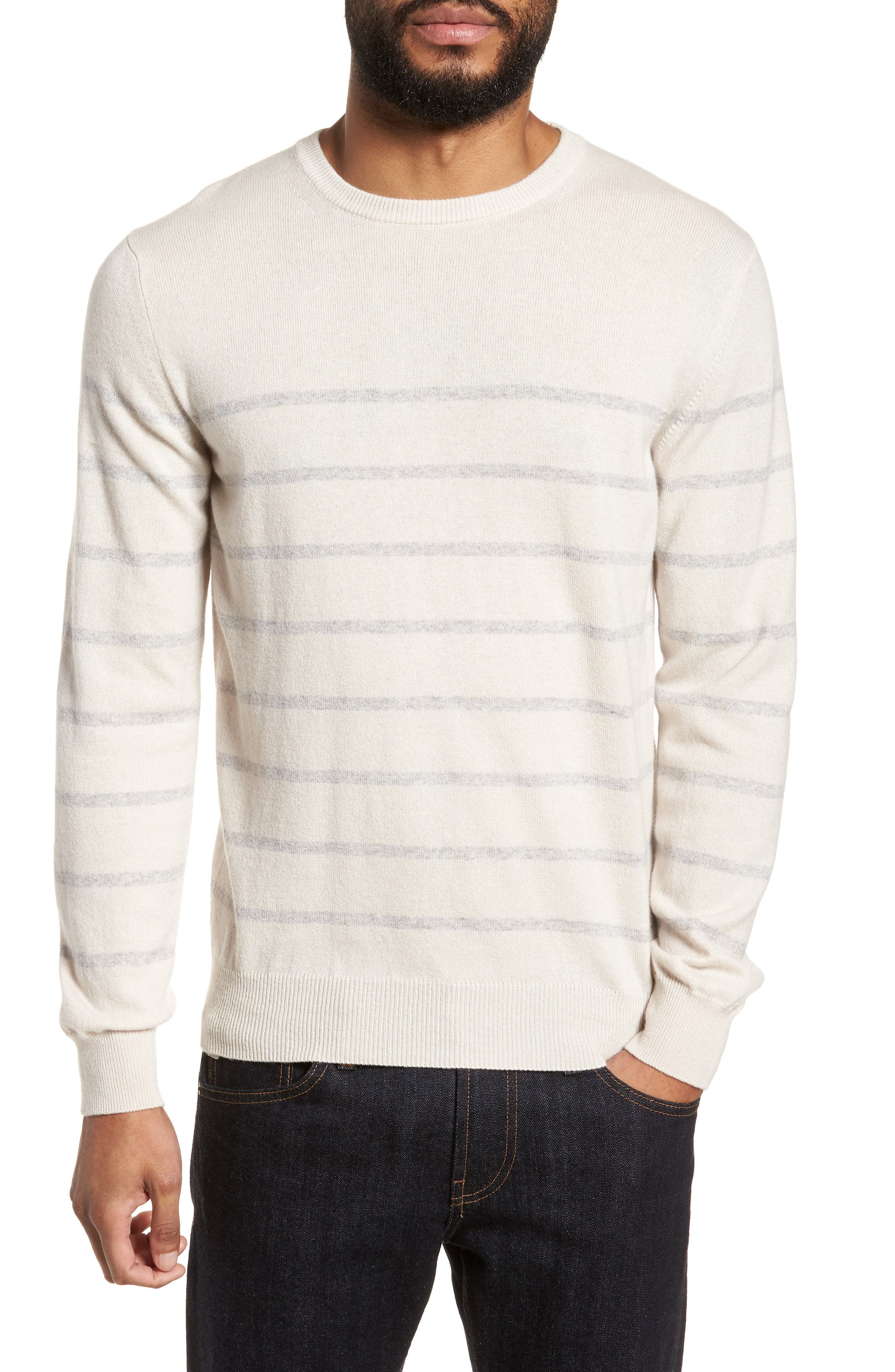 Cashmere Crewneck Sweater,                         Main,                         color, 102