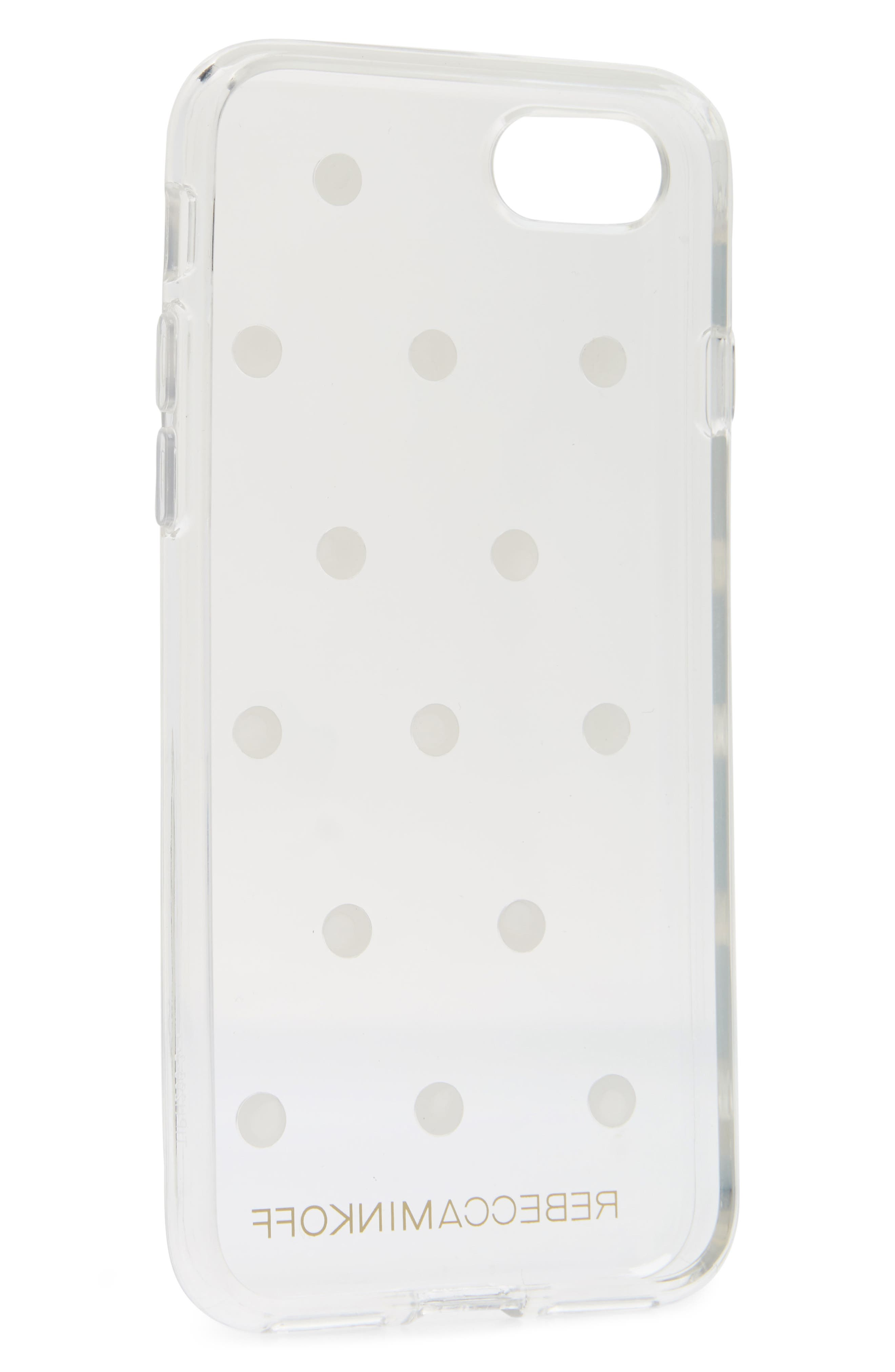 Sheer Stud iPhone 7/8 and 7/8 Plus Case,                             Alternate thumbnail 2, color,                             101