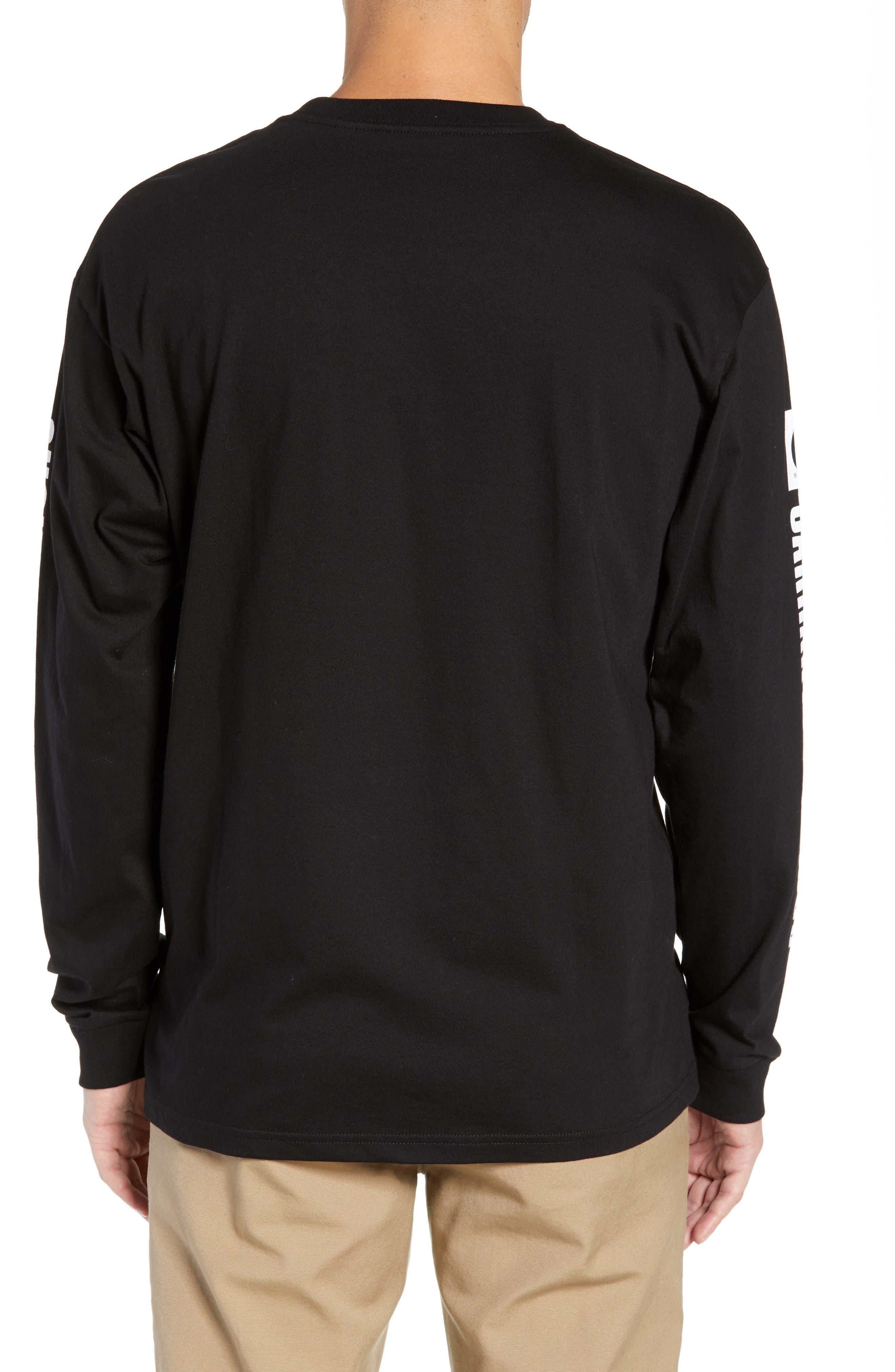 Long Sleeve 1989 T-Shirt,                             Alternate thumbnail 2, color,                             BLACK / WHITE
