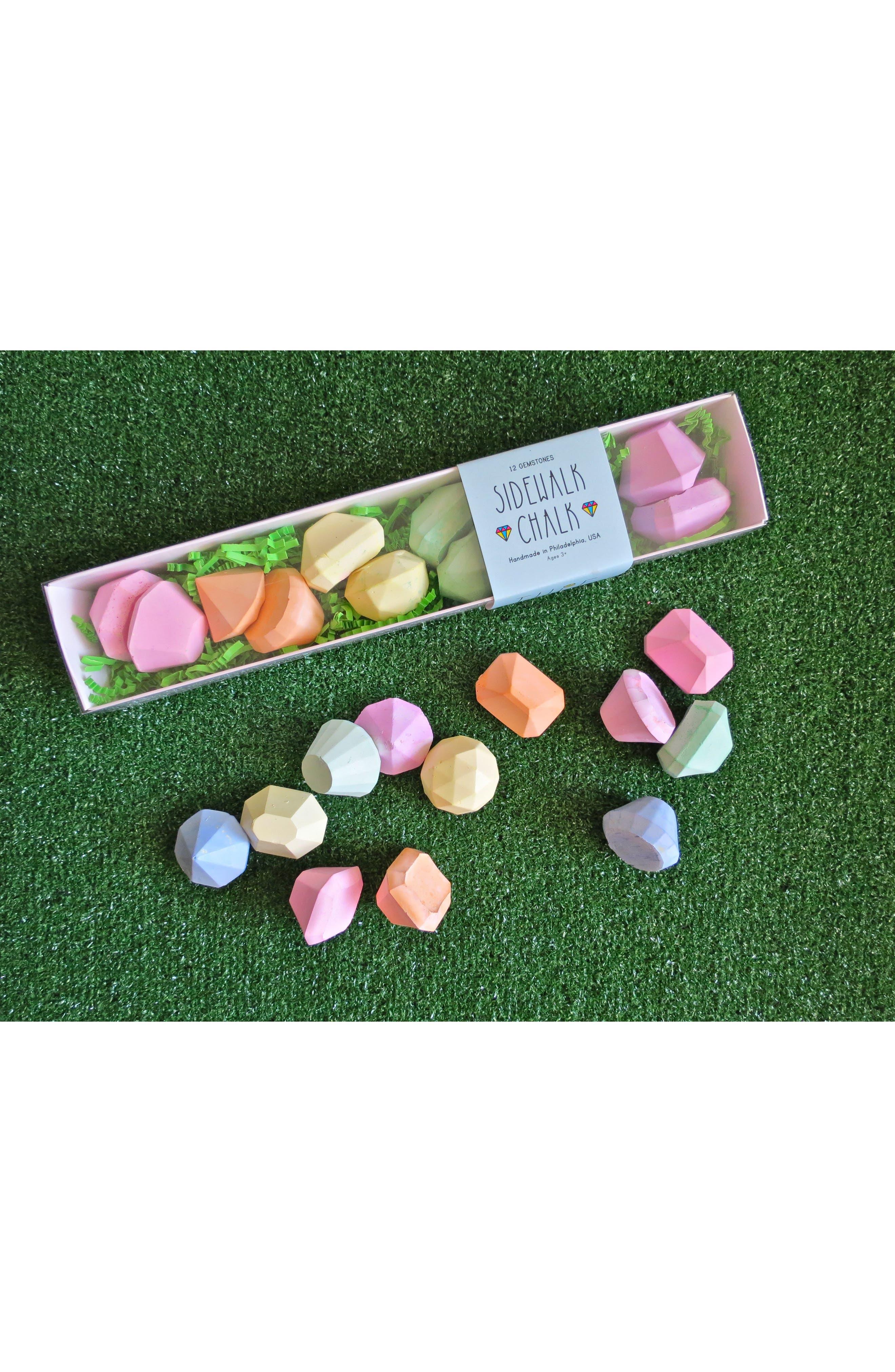 24-Piece Gemstone Sidewalk Chalk Set,                             Main thumbnail 1, color,                             300