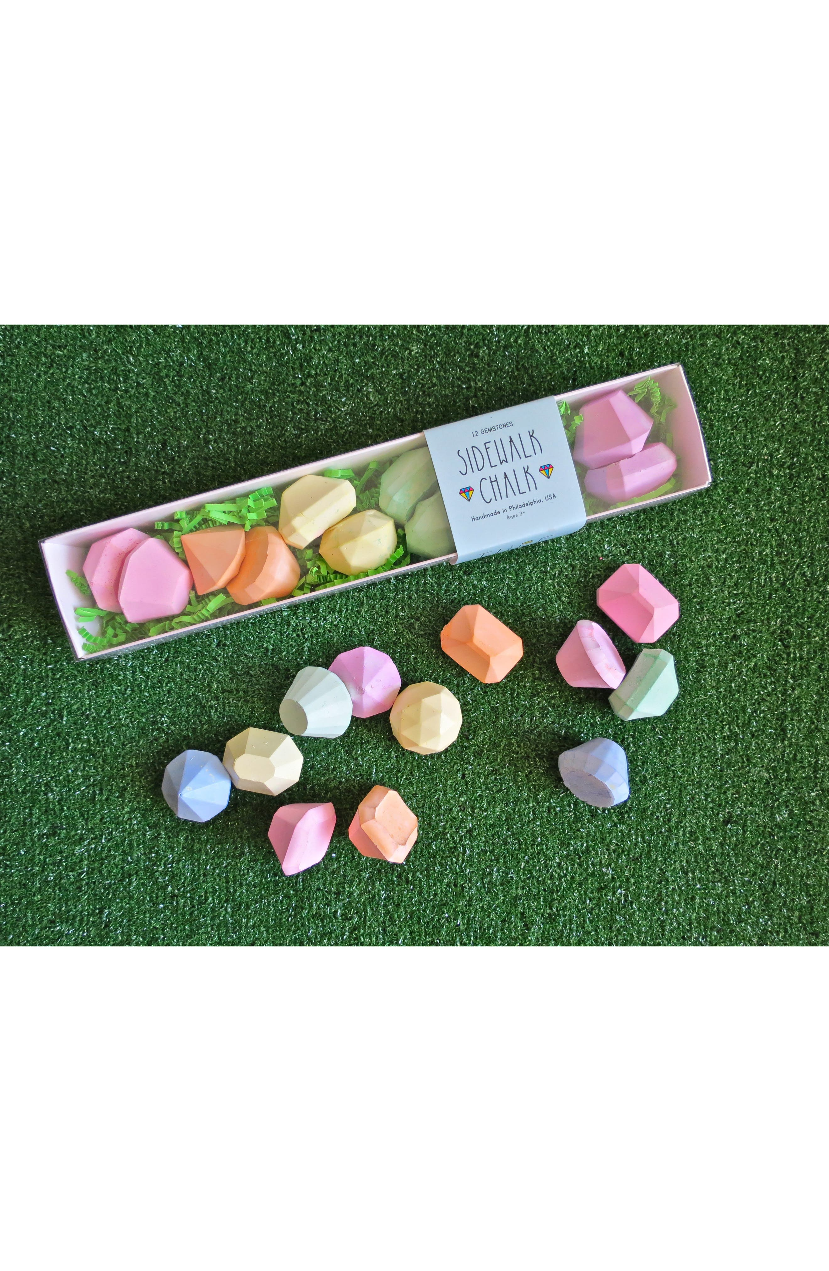 24-Piece Gemstone Sidewalk Chalk Set,                         Main,                         color, 300