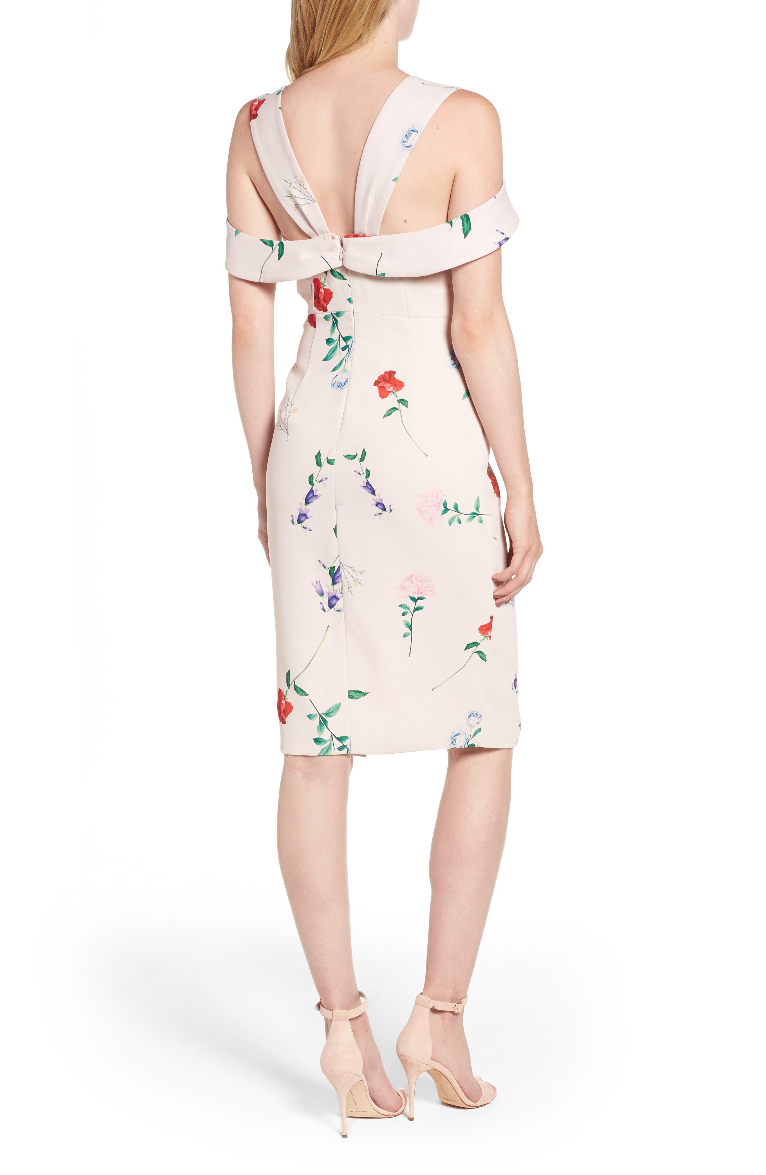 Archibald Cold Shoulder Cutout Detail Dress,                             Alternate thumbnail 2, color,                             650
