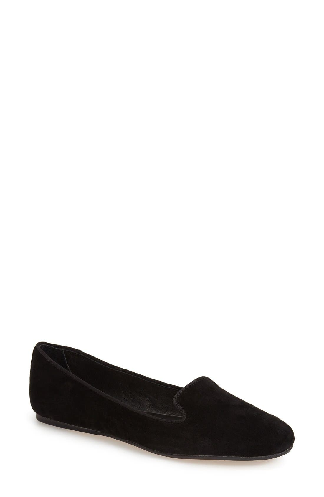 'Brannon' Smoking Loafer,                         Main,                         color, 001
