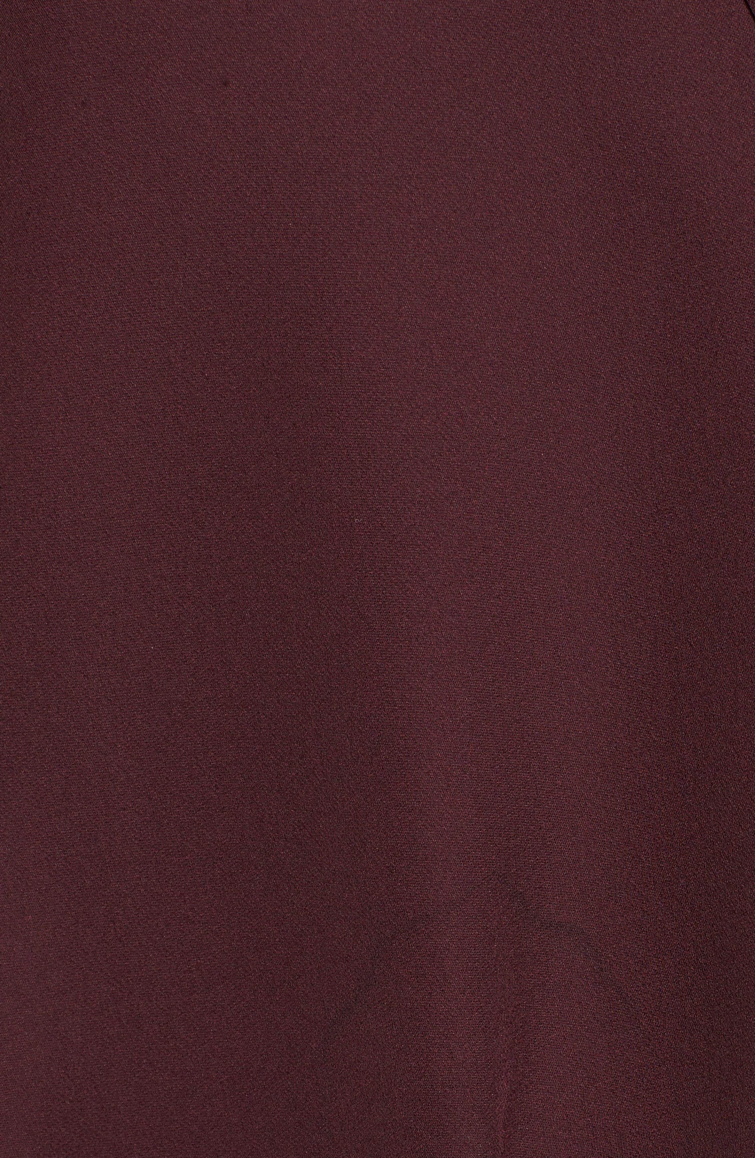 Kenji Tie Neck Dress,                             Alternate thumbnail 5, color,                             930