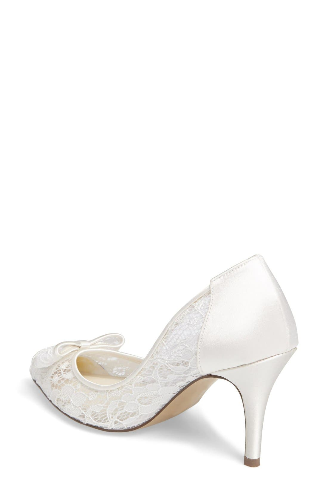 Promise Pointy Toe Lace Pump,                             Alternate thumbnail 2, color,                             900