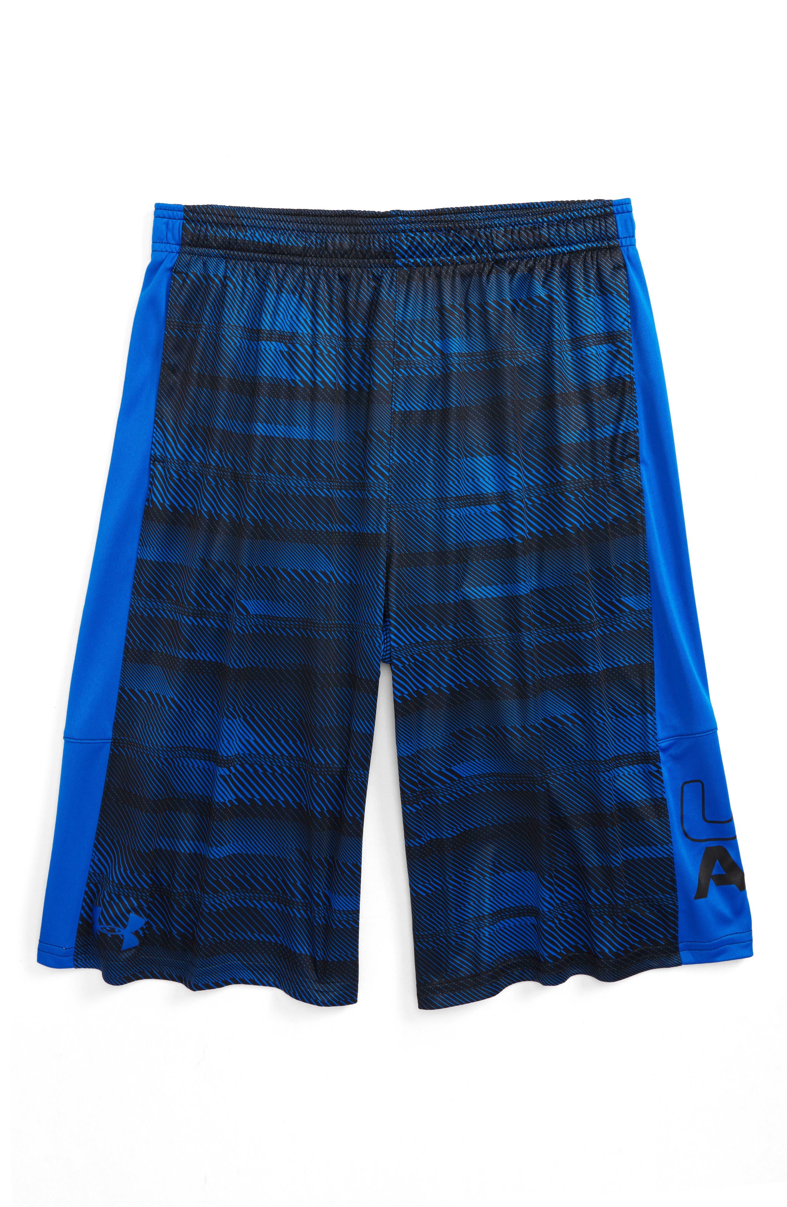 Stunt HeatGear<sup>®</sup> Shorts,                             Main thumbnail 15, color,