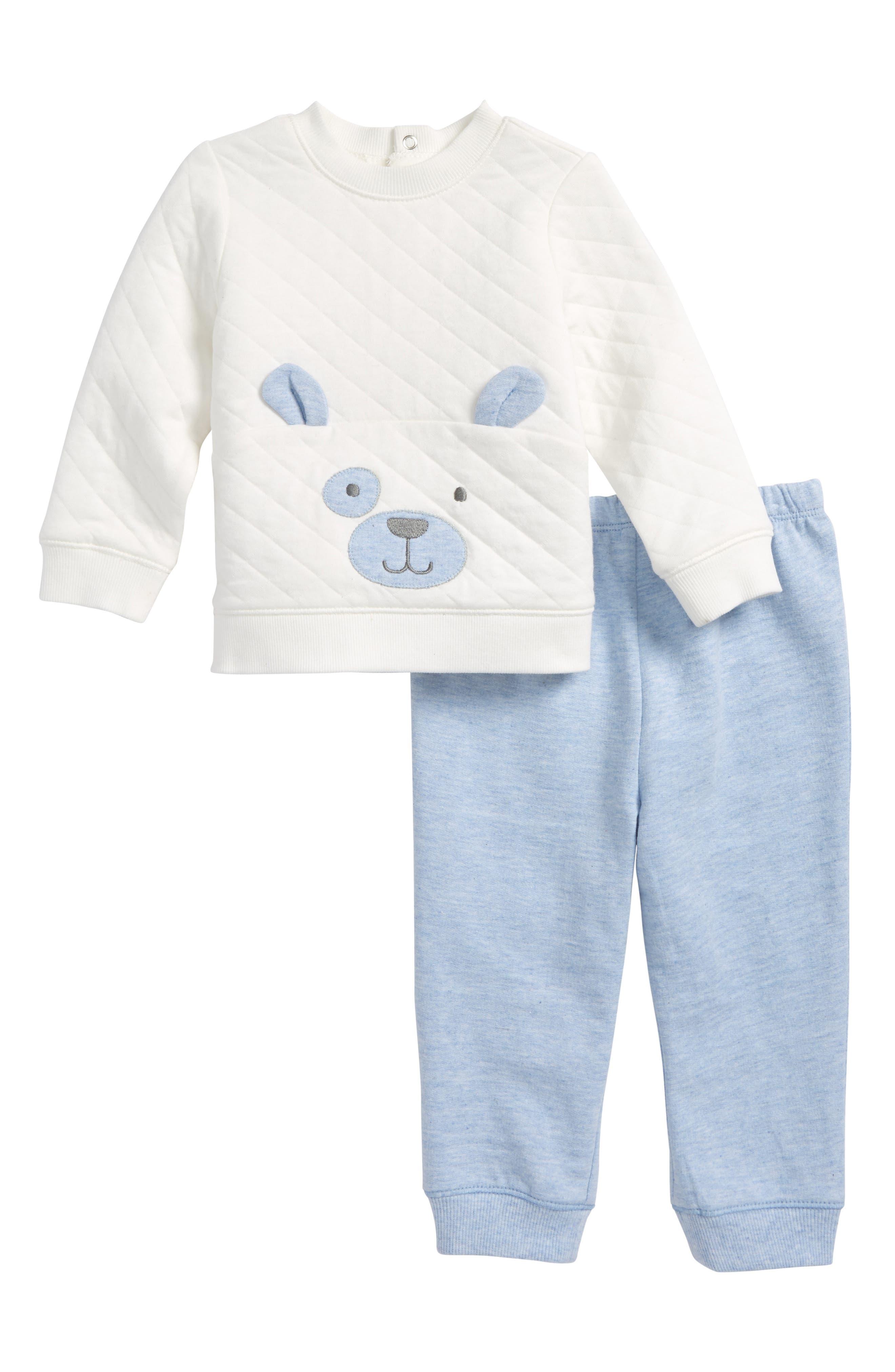 Puppy Sweatshirt & Sweatpants Set,                             Main thumbnail 1, color,                             402