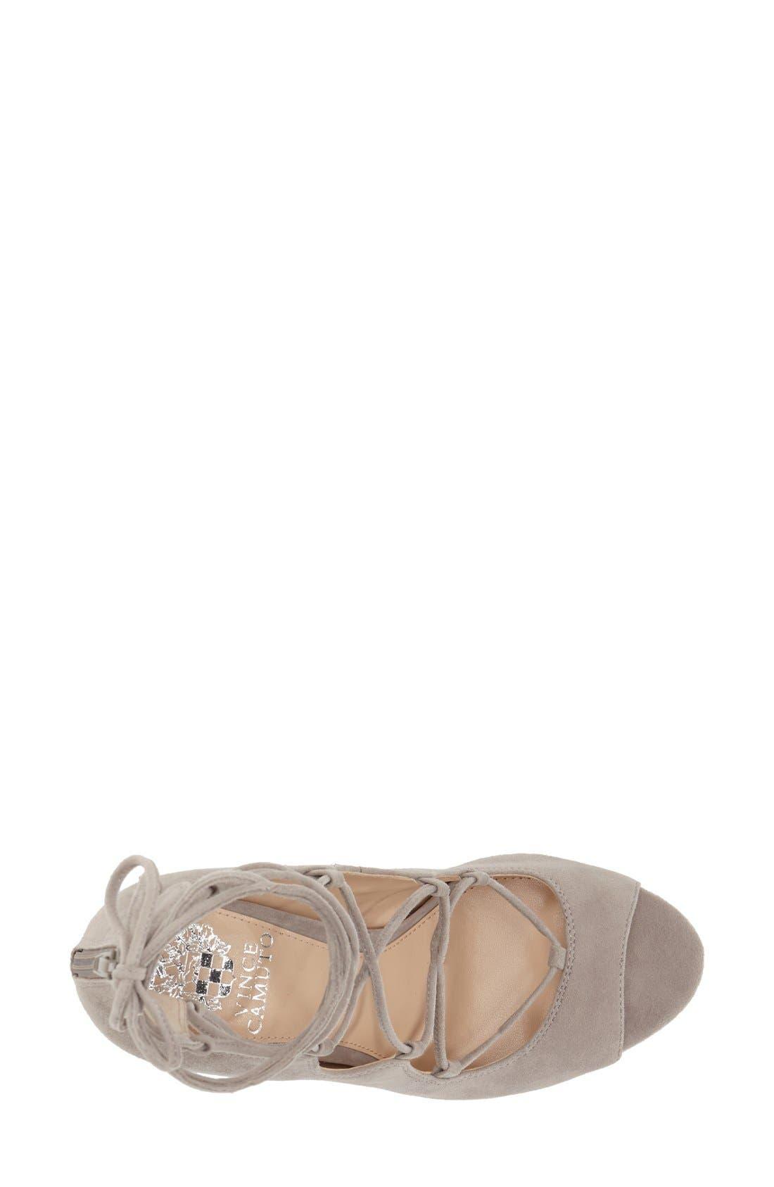 'Sandria' Peep Toe Ghillie Sandal,                             Alternate thumbnail 33, color,