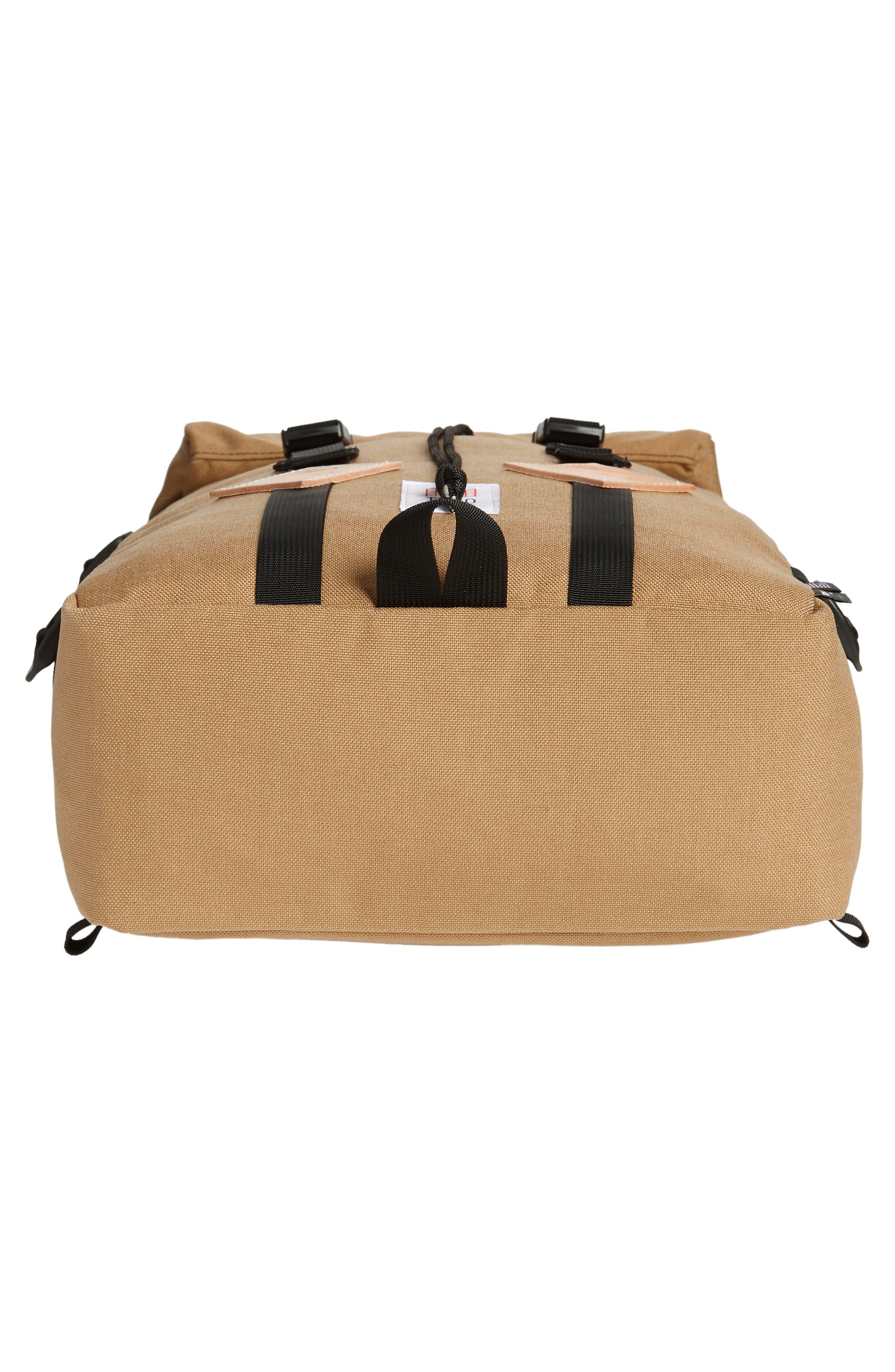 'Klettersack' Backpack,                             Alternate thumbnail 6, color,                             KHAKI