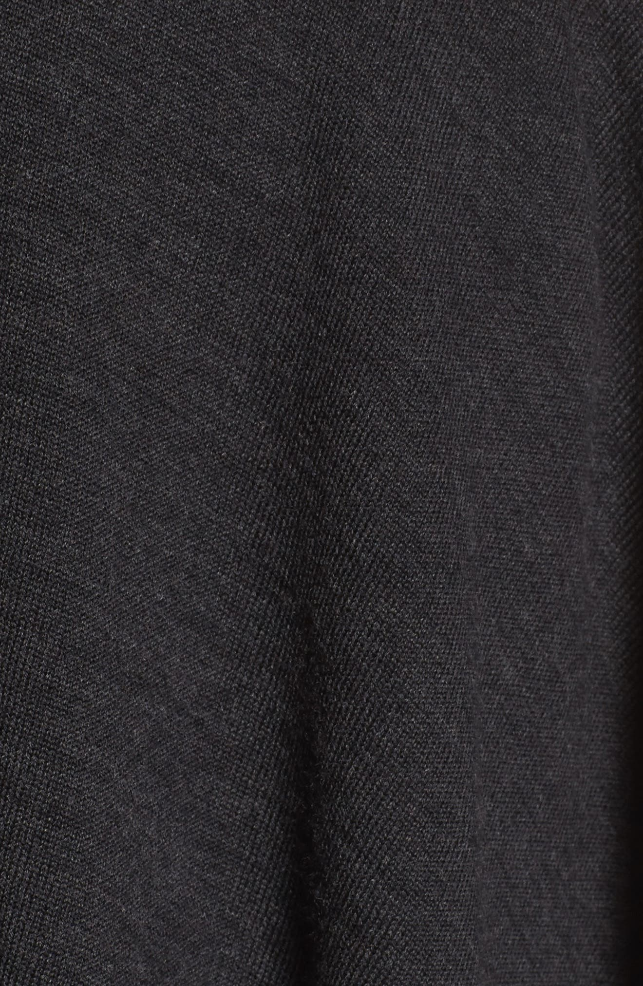 Reversible Wool Blend Serape,                             Alternate thumbnail 5, color,