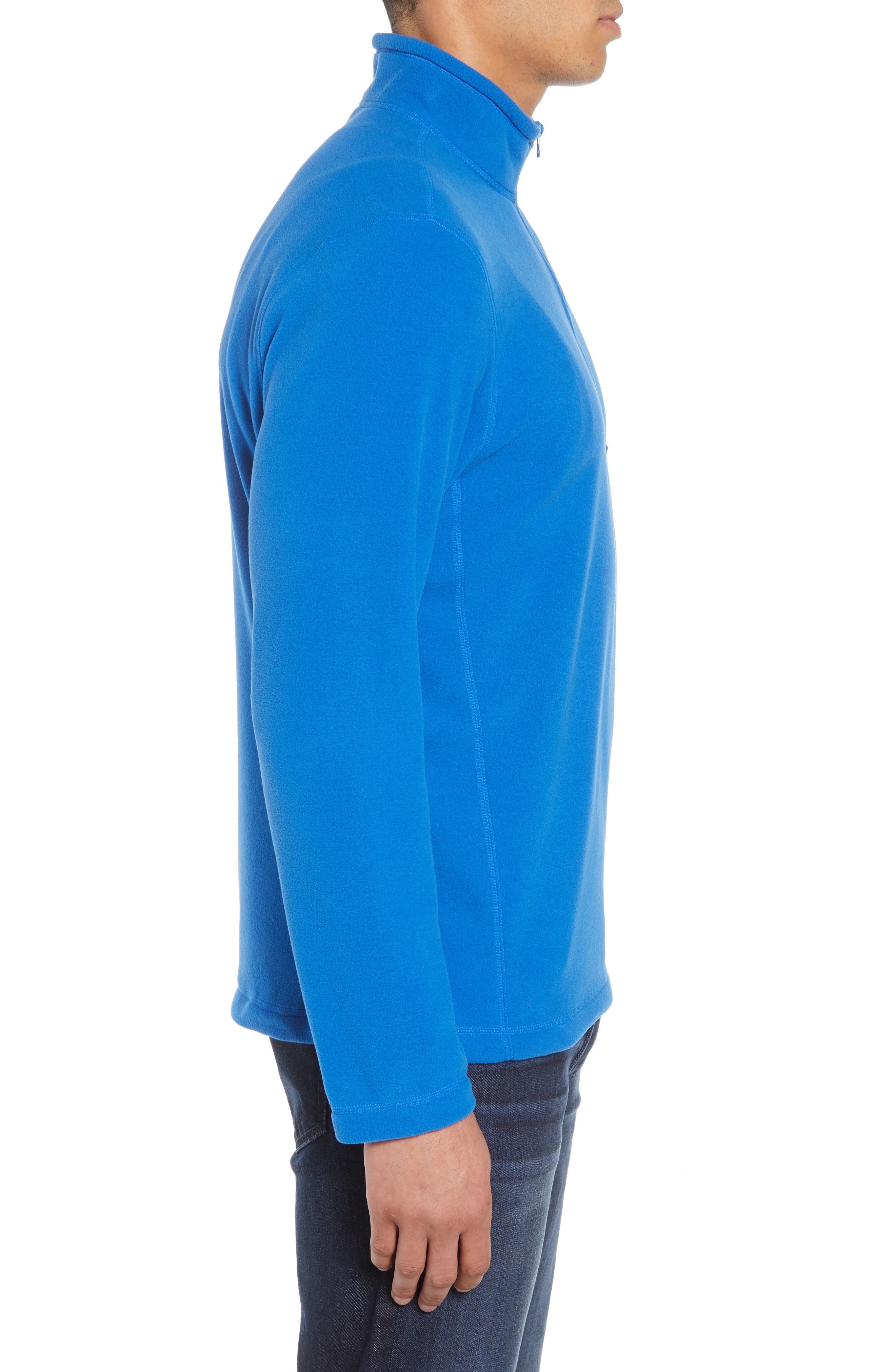'TKA 100 Glacier' Quarter Zip Fleece Pullover,                             Alternate thumbnail 99, color,
