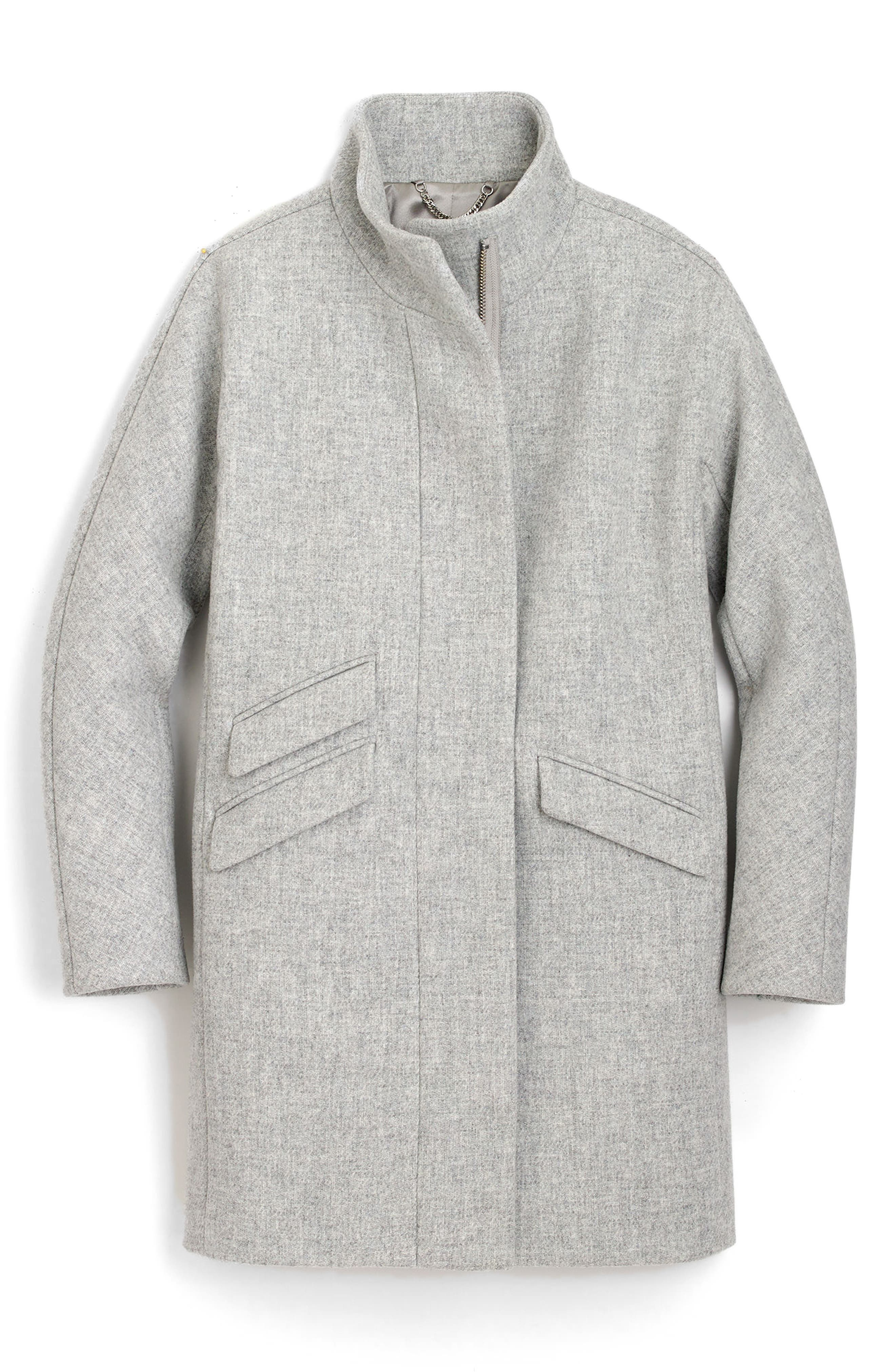 Stadium Cloth Cocoon Coat,                             Alternate thumbnail 51, color,