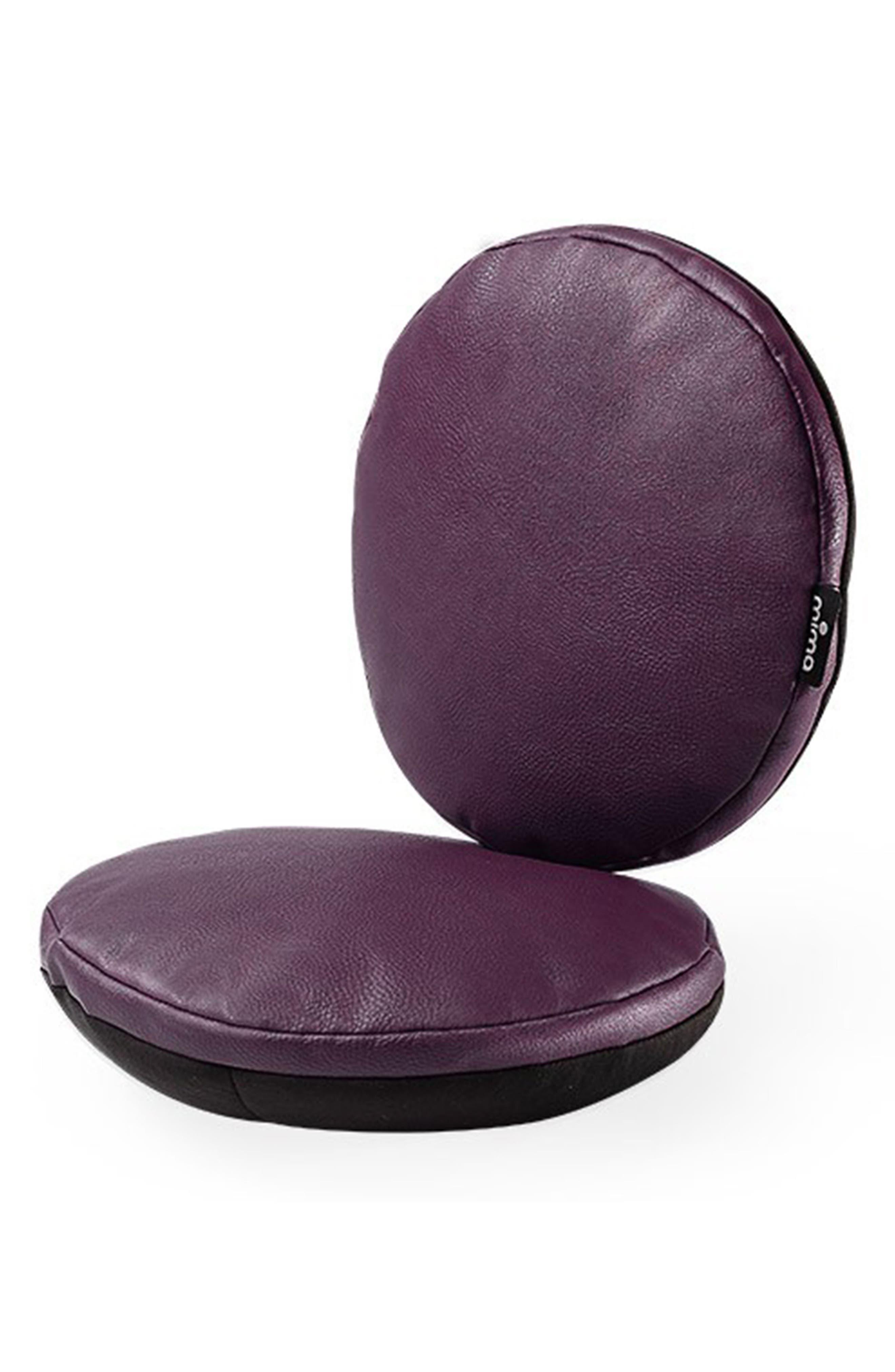 Moon Junior Highchair Seat Cushion,                             Main thumbnail 1, color,                             AUBERGINE