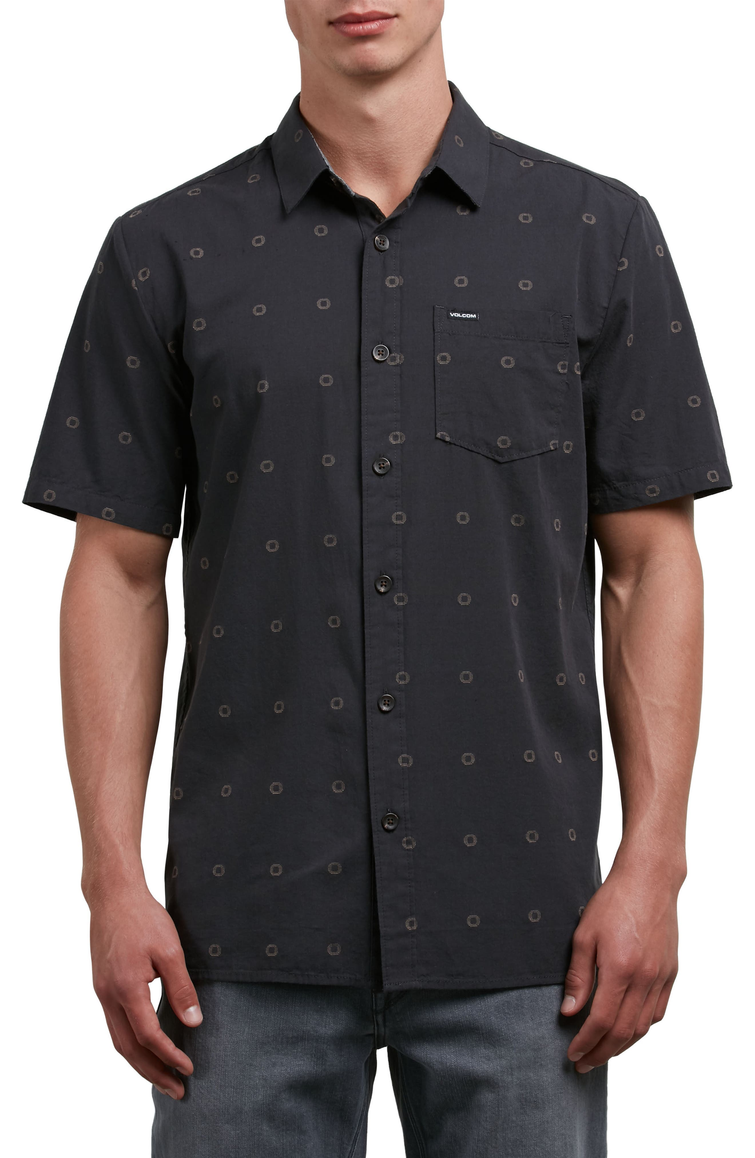 Trenton Woven Shirt,                             Main thumbnail 1, color,                             011
